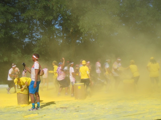 The Color Run  au parc Jean Drapeau