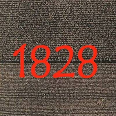 1828 - 828 en deux mots :À la fin des années 2000, champollion sort deux EP autour du concept de la