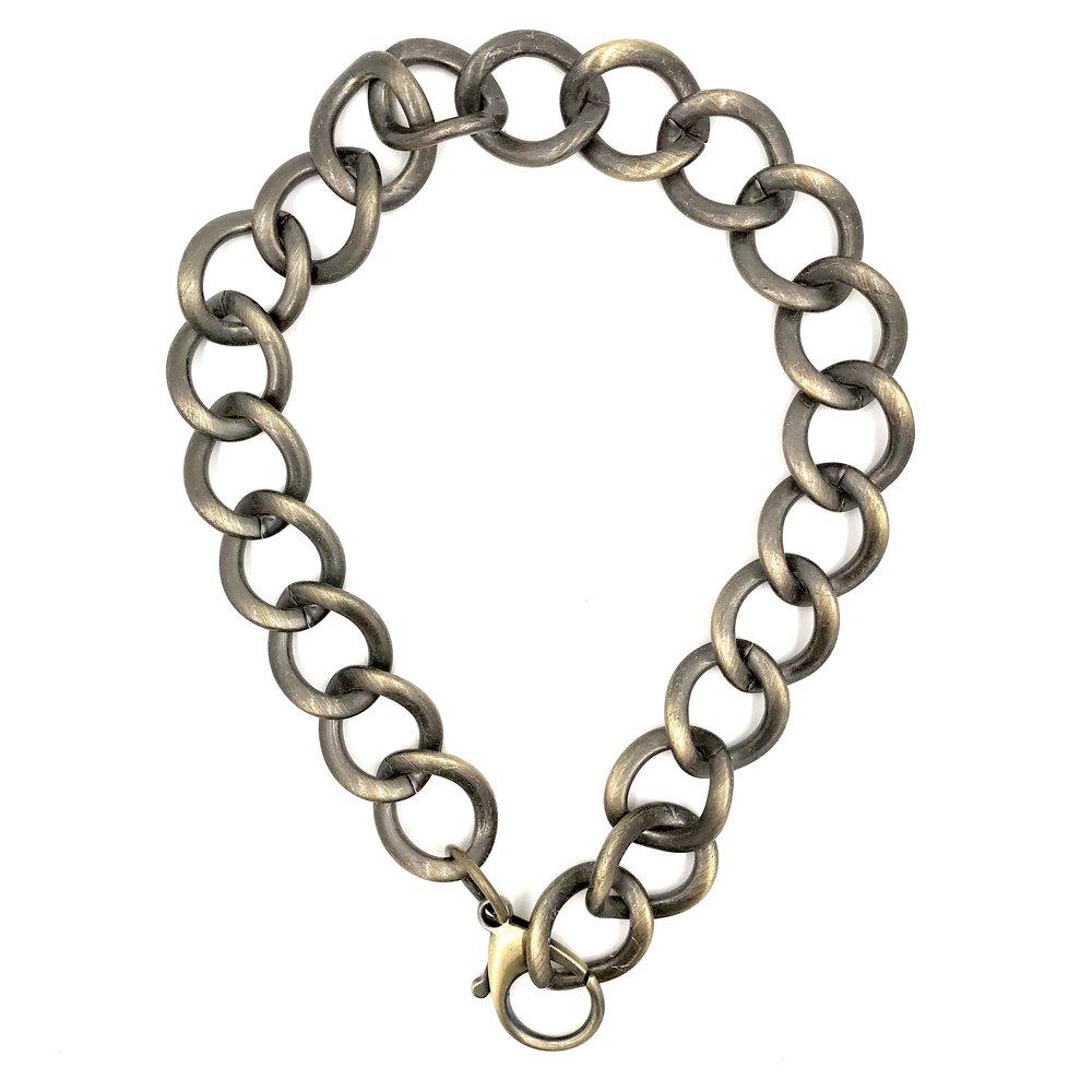 Vintage Brass Large Link Chain
