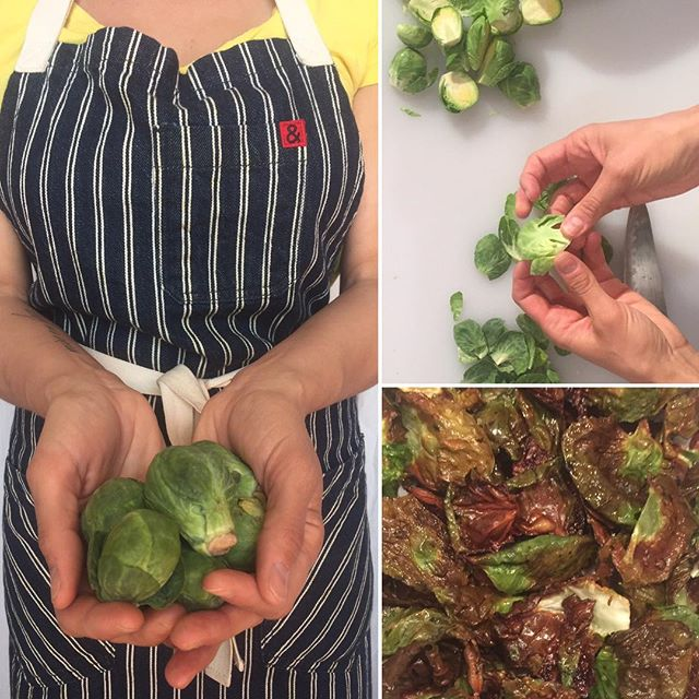 Happy Sunday! ☀️ Our go-to snack right now are these super-easy brussels sprout chips! 🌳🌳 In case you missed it, check out our last Instagram post to see how we made this zero-waste snack!! Also, there is 1 WEEK LEFT to enter our spring recipe contest! More details are in the bio- feel free to comment below with your recipe! • • •  #recipe #nowaste #zerowaste #reuse #compost #sustainable #environment #organic #fresh #chips #brussels #vegetarian #gogreen #green #environmental #recycle #wastefree #veg #snack #healthy #health #sprouts #apronsquad #howto #vegetables