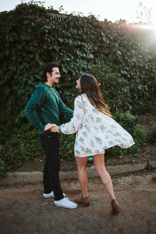 Alex + Jaimee - Jurassic park greenhouse + tender kisses