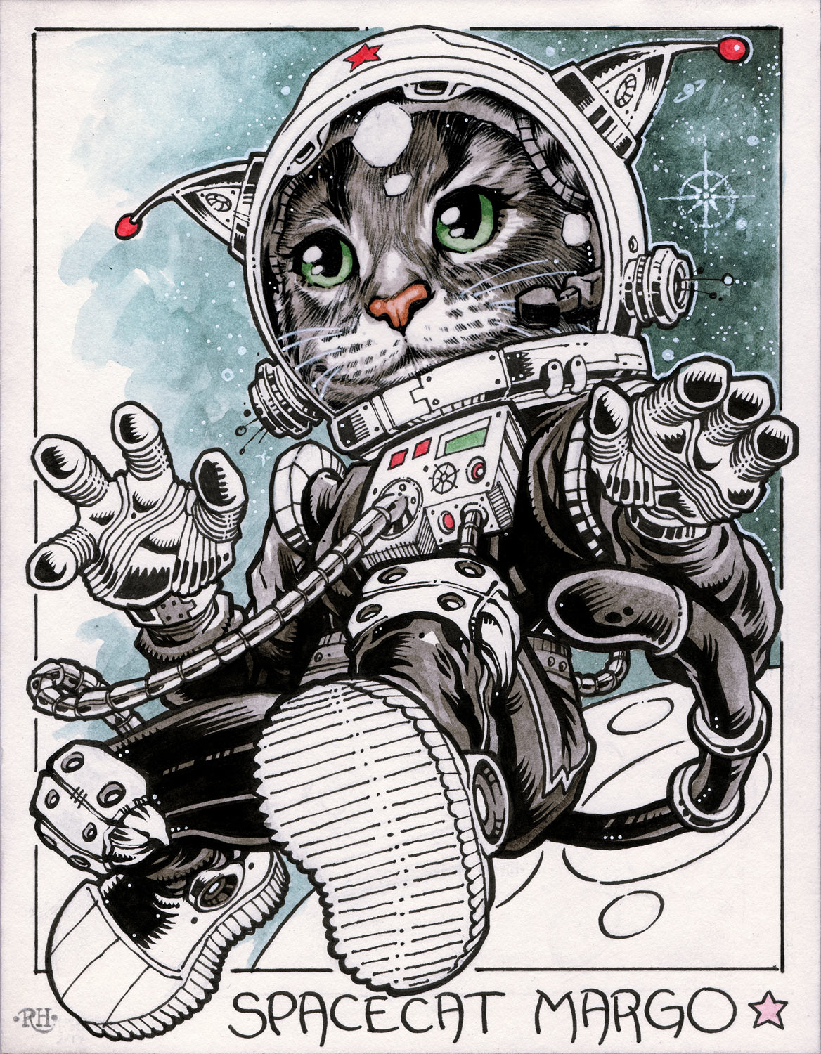 Spacecat Margo
