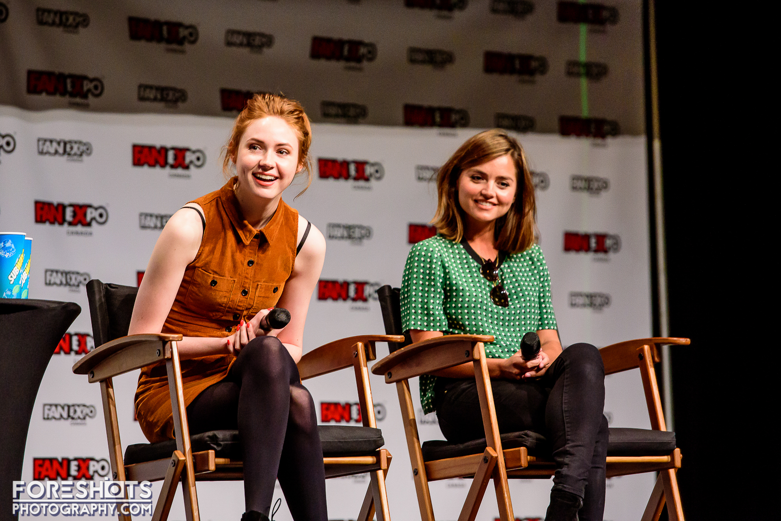 Doctor Who's Karen Gillan and Jenna Coleman do a Q&A at Fan Expo Canada