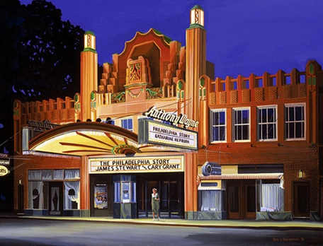 Painting of this Magical Theater in it's Heyday!