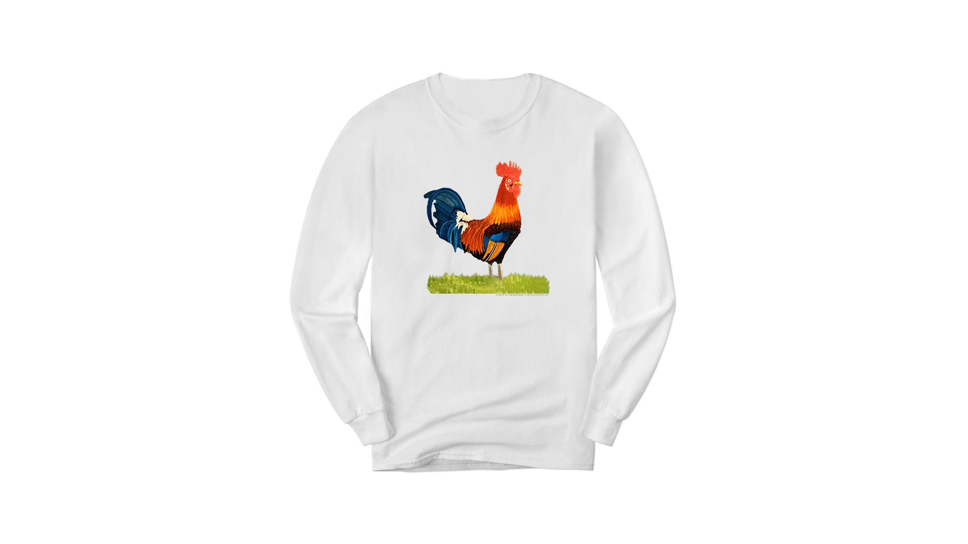 White Long Sleeve Rooster og.png
