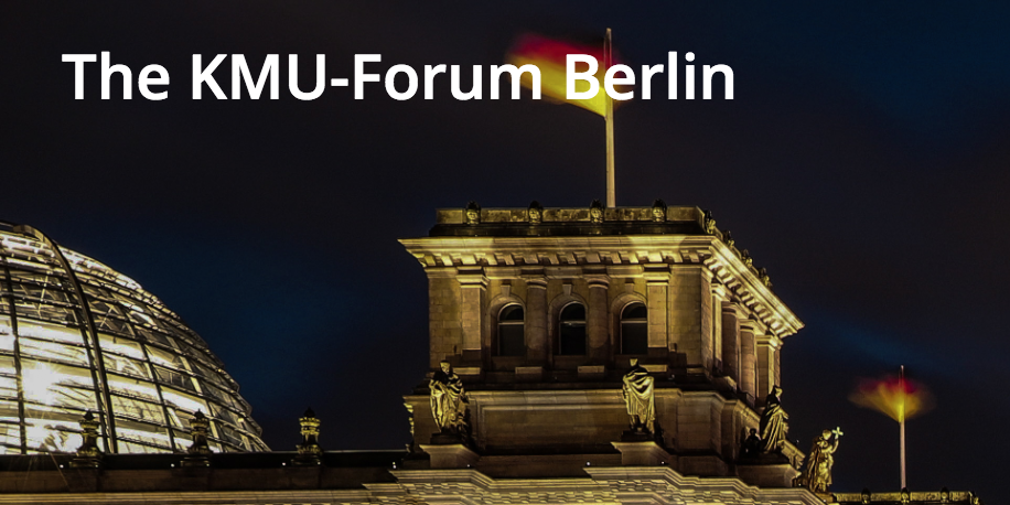 Fireside Talk with KMU-Forum Berlin - The German economy is known for a solid export surplus and numerous small and medium enterprises (SME) creating the lion's share of our gross domestic product (GDP). Everything is home and dry? No reason to worry? Internationalization – no issue? Not really!The KMU-Forum Berlin invites you for a FIRESIDE TALK on the 22nd of March 2018 to discuss their ideas with you and start building the bridges pragmatically!