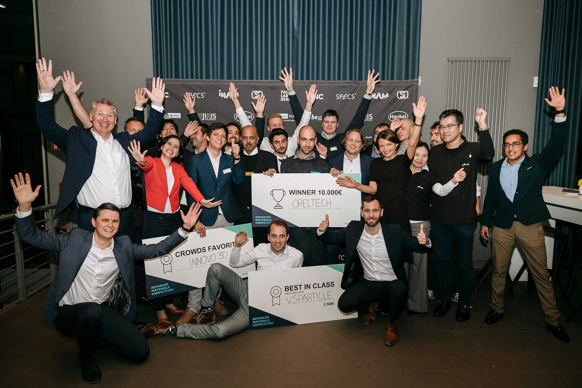 AdMaCom Participation - You will receive exclusive pre-, during and post-event access to our annual accelerator program: Advanced Materials Competition (AdMaCom).