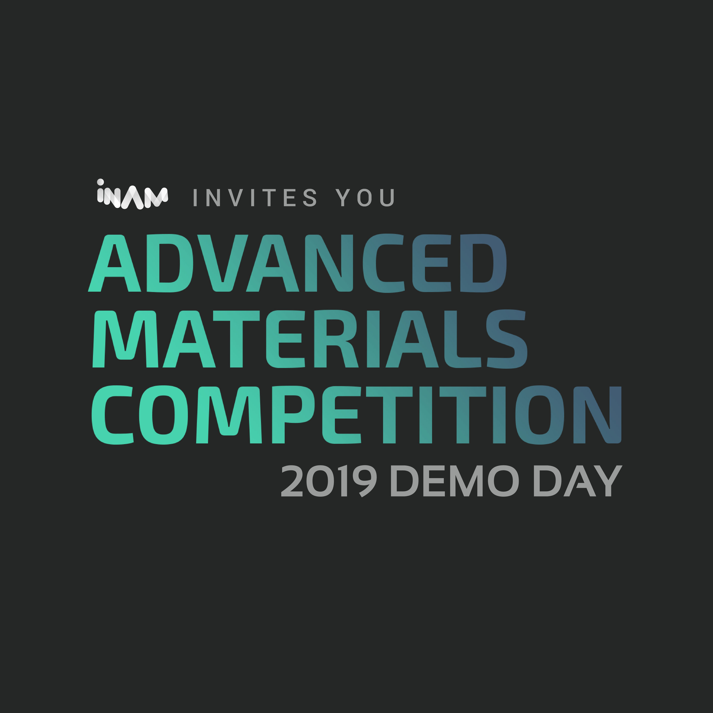 ADMACOM 2019 DEMO DAY - Join us to hear pitches from 10 exciting startups in materials science. The teams come from all over the world and the Demo Day marks their graduation from our intense 2 week Accelerator Program, AdMaCom.