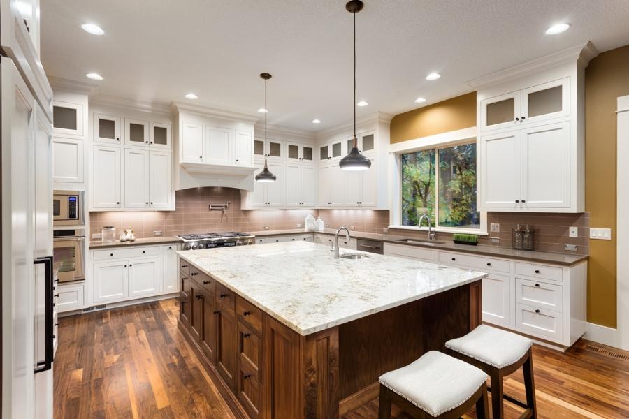 hardwood floor installed in san diego kitchen