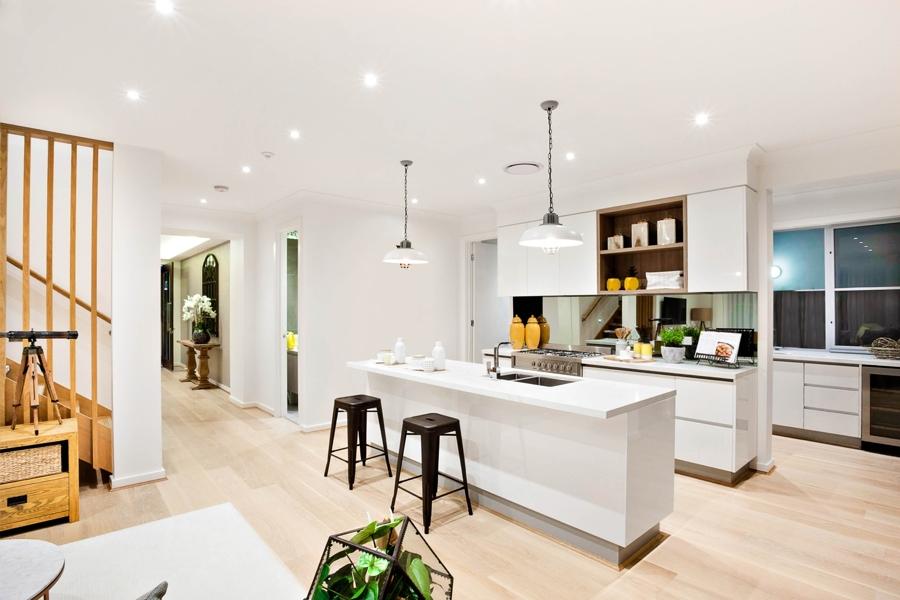 vinyl flooring installed in san diego kitchen home