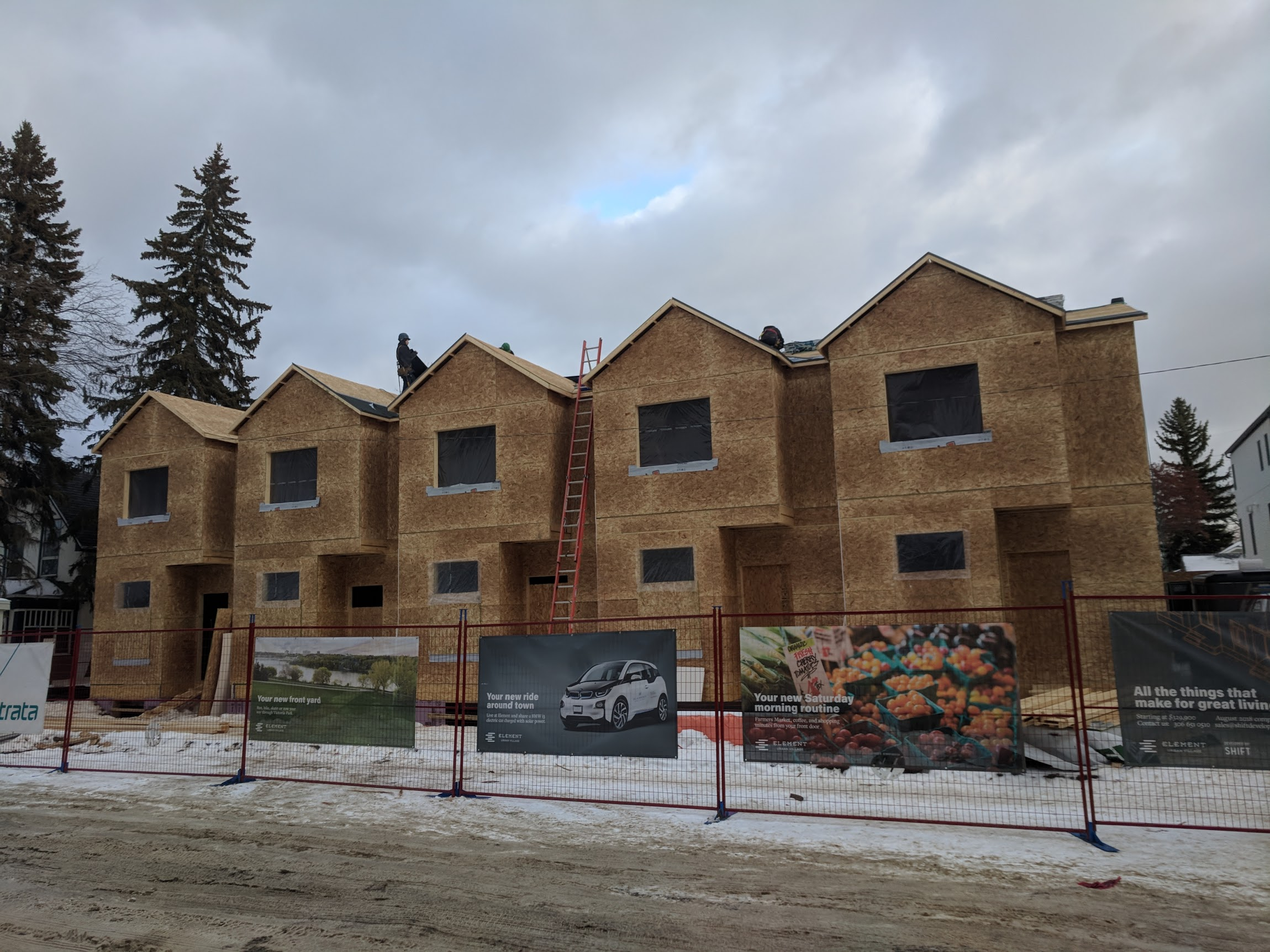 Construction progress at Phase II (Streetfront building), as of November 2017. Check out our  construction cam  page for more!