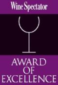 Wine Spectator Award
