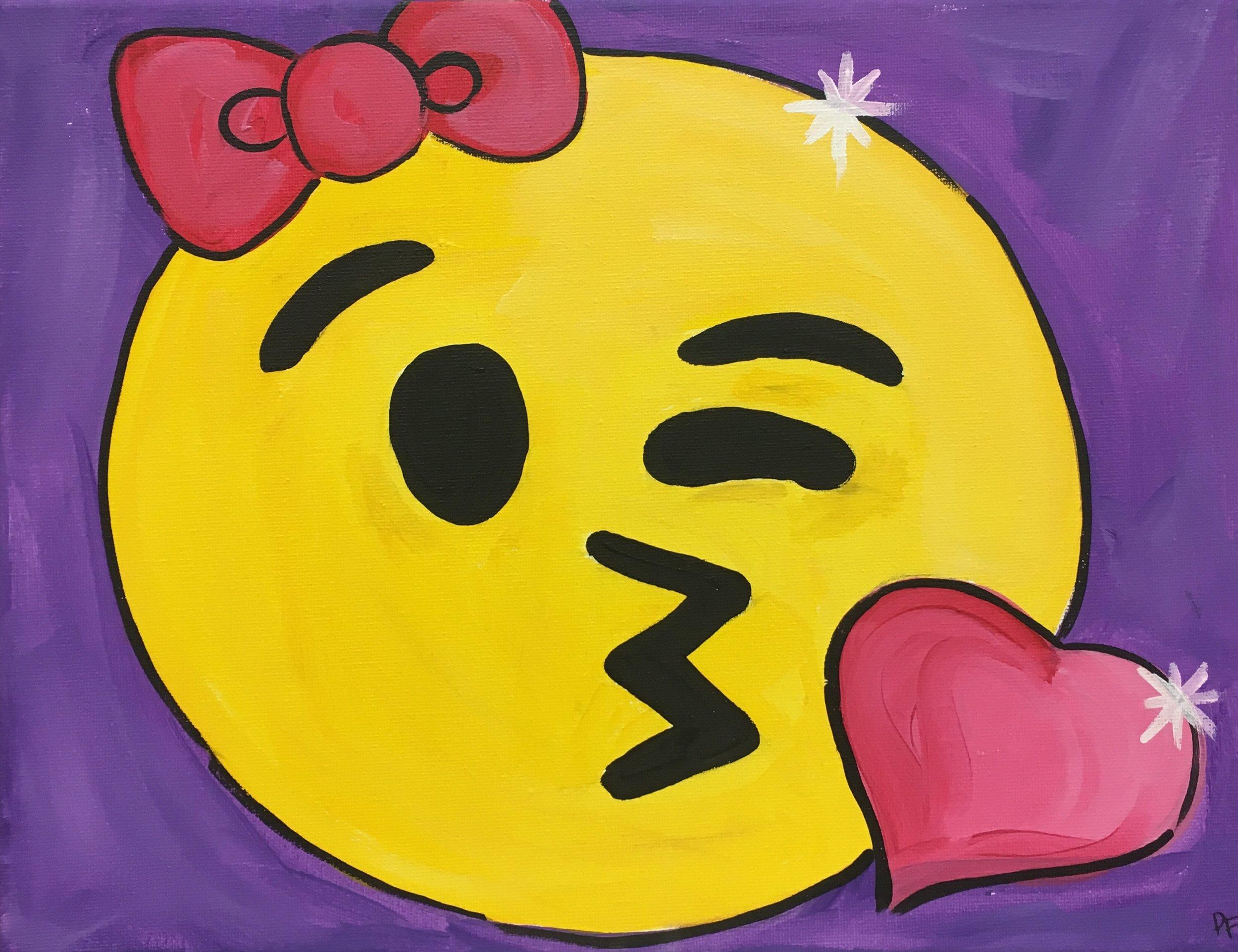 Pucker-Up Emoji