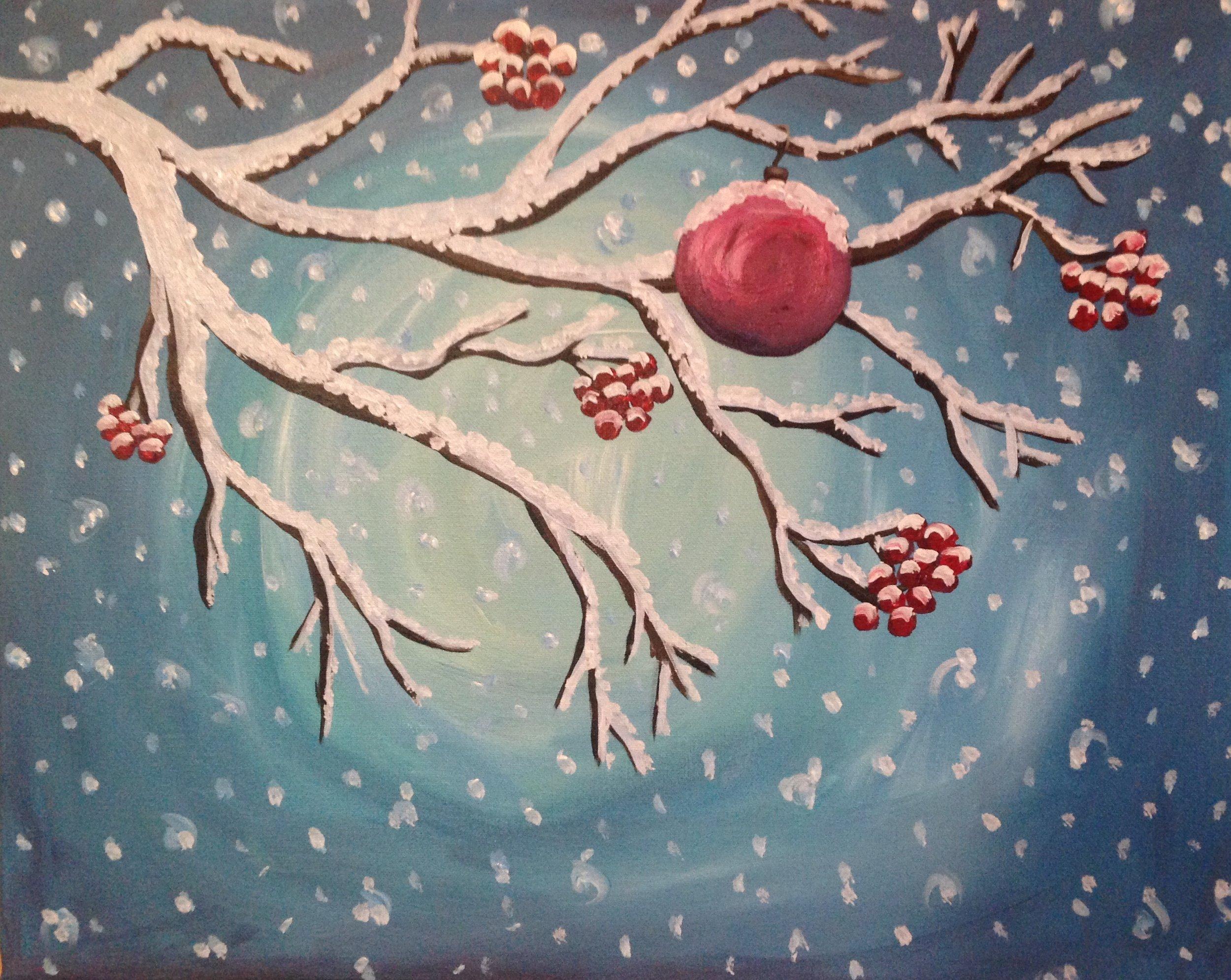 *Winter Ornament