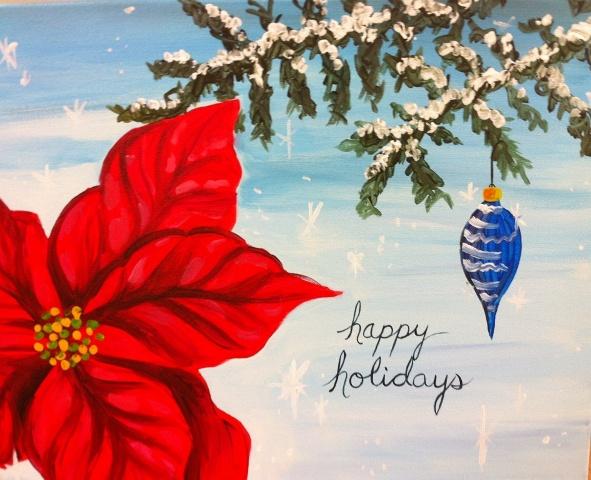 *Holiday Poinsettia