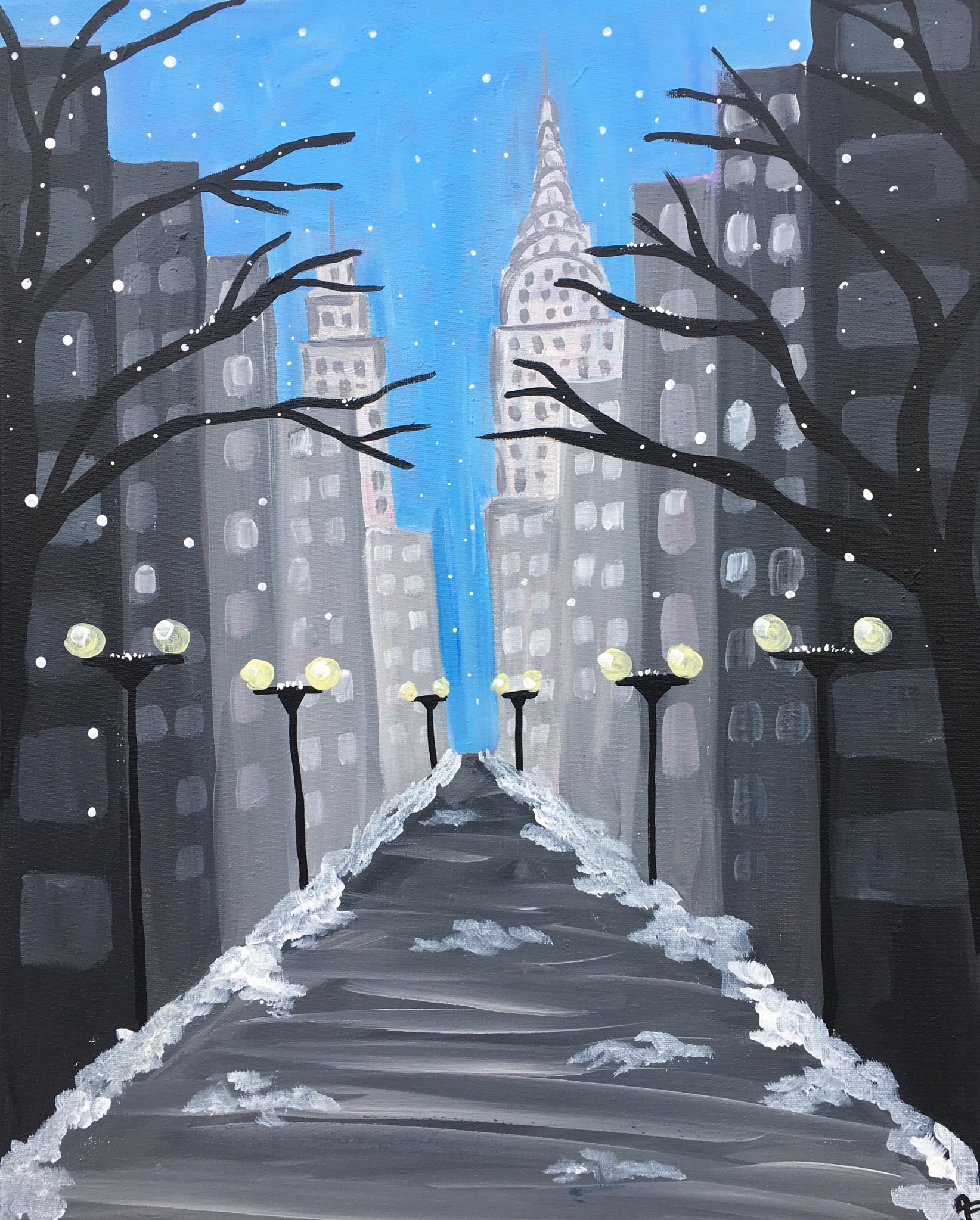 *New York Snow Day