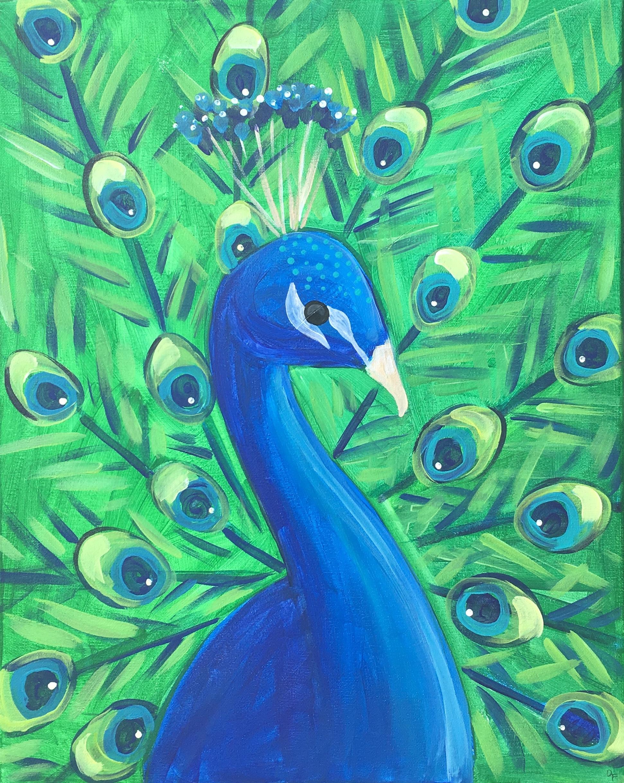 Peacock Pride (difficult)