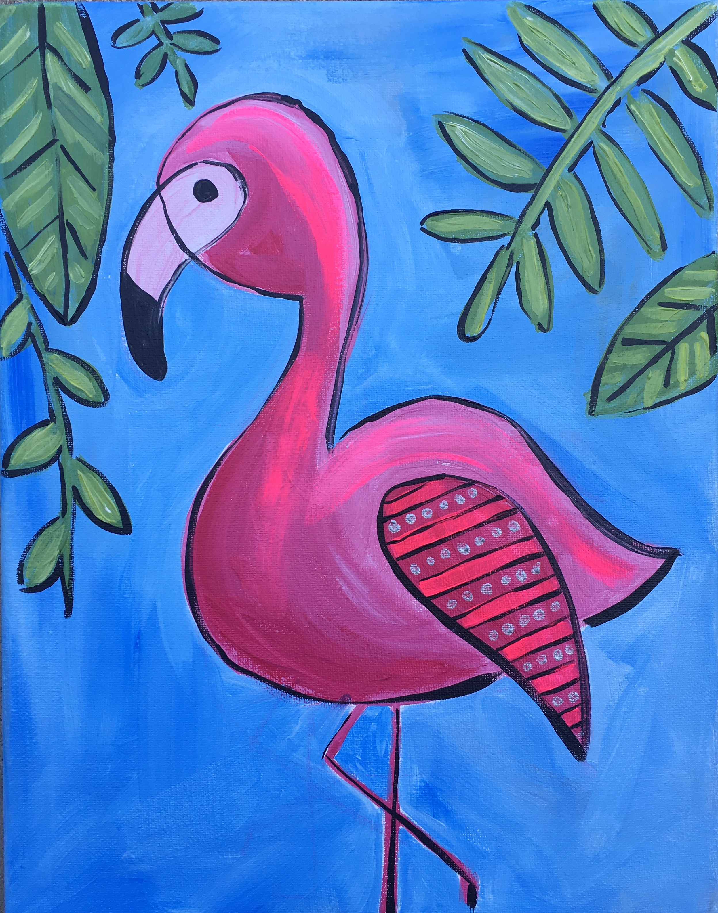 Florescent Flamingo
