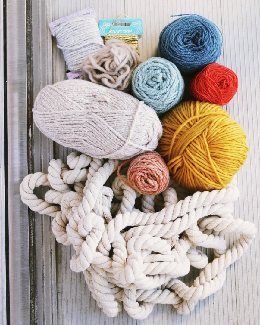 weaving yarn supplies