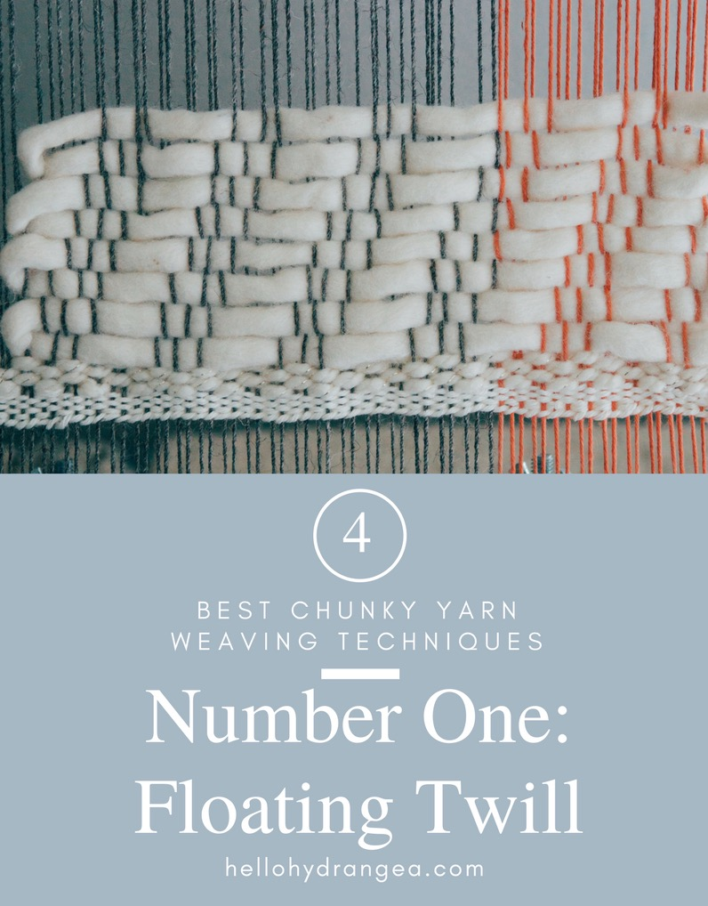 Weaving Chunky Yarn Tutorial