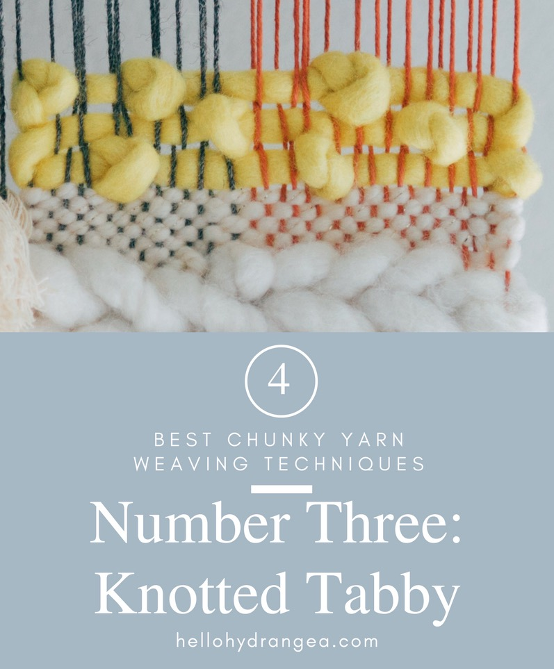 Weaving with Chunky Yarn Tutorial