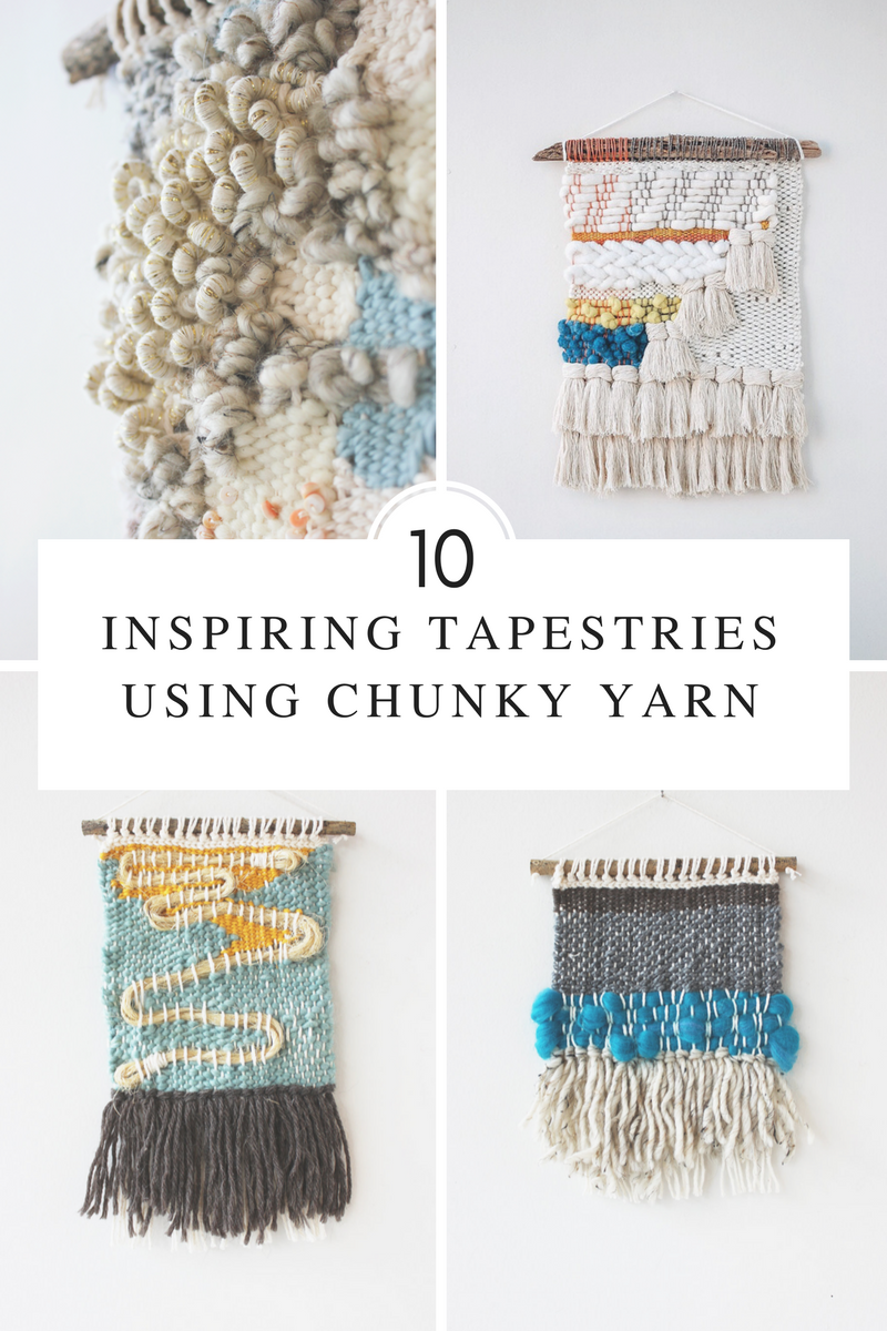 10 Ways to Use Chunky Yarn in Tapestries