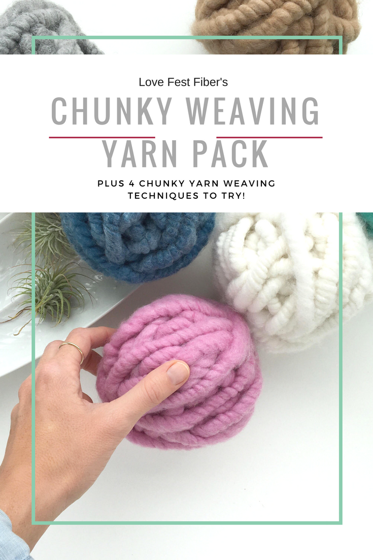 Chunky Weaving Yan Pack
