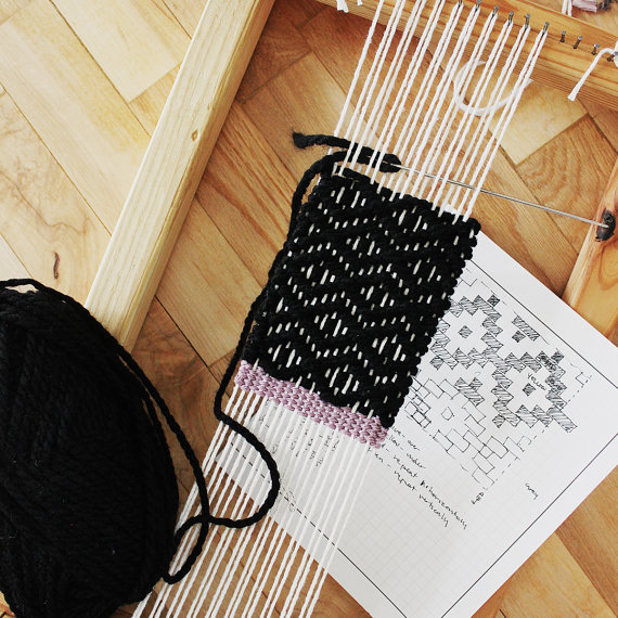 Diamond twill lesson from my Intermediate Weaving class