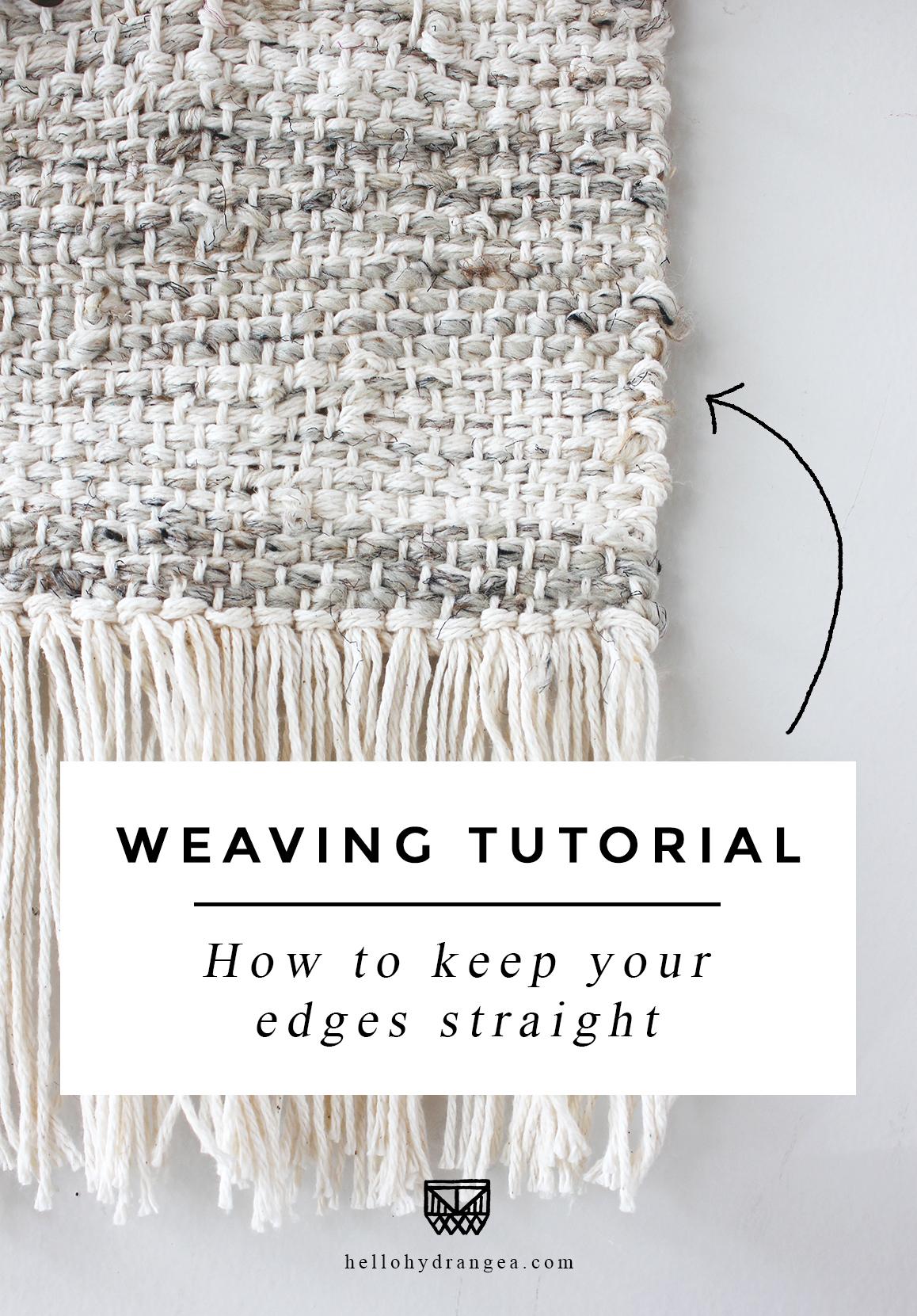 weaving keep edges straight