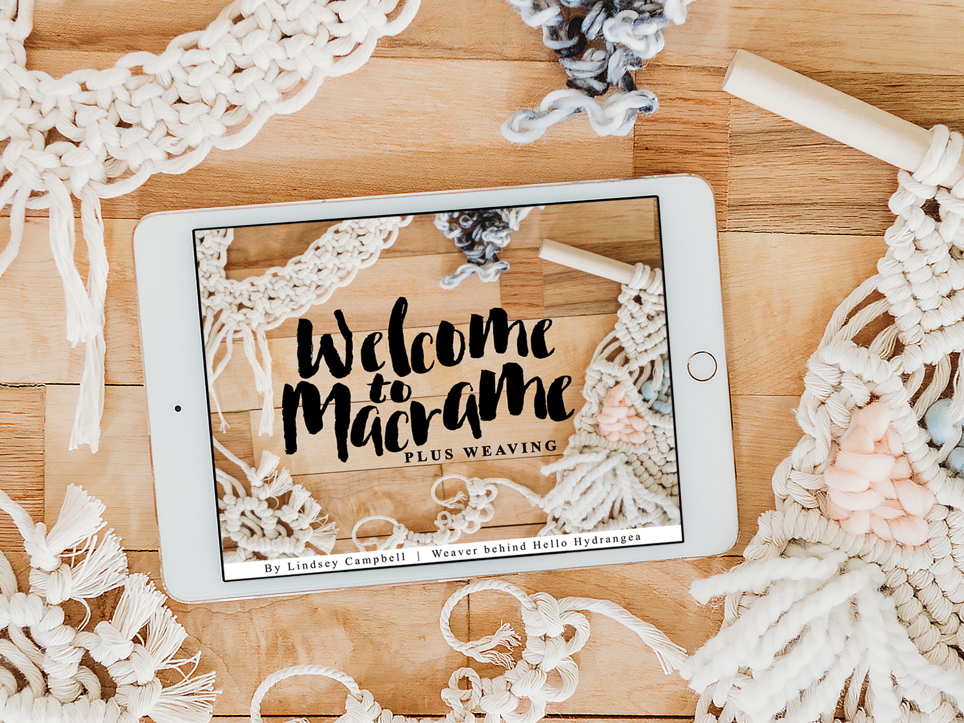 Click Here - for complete macrame video class