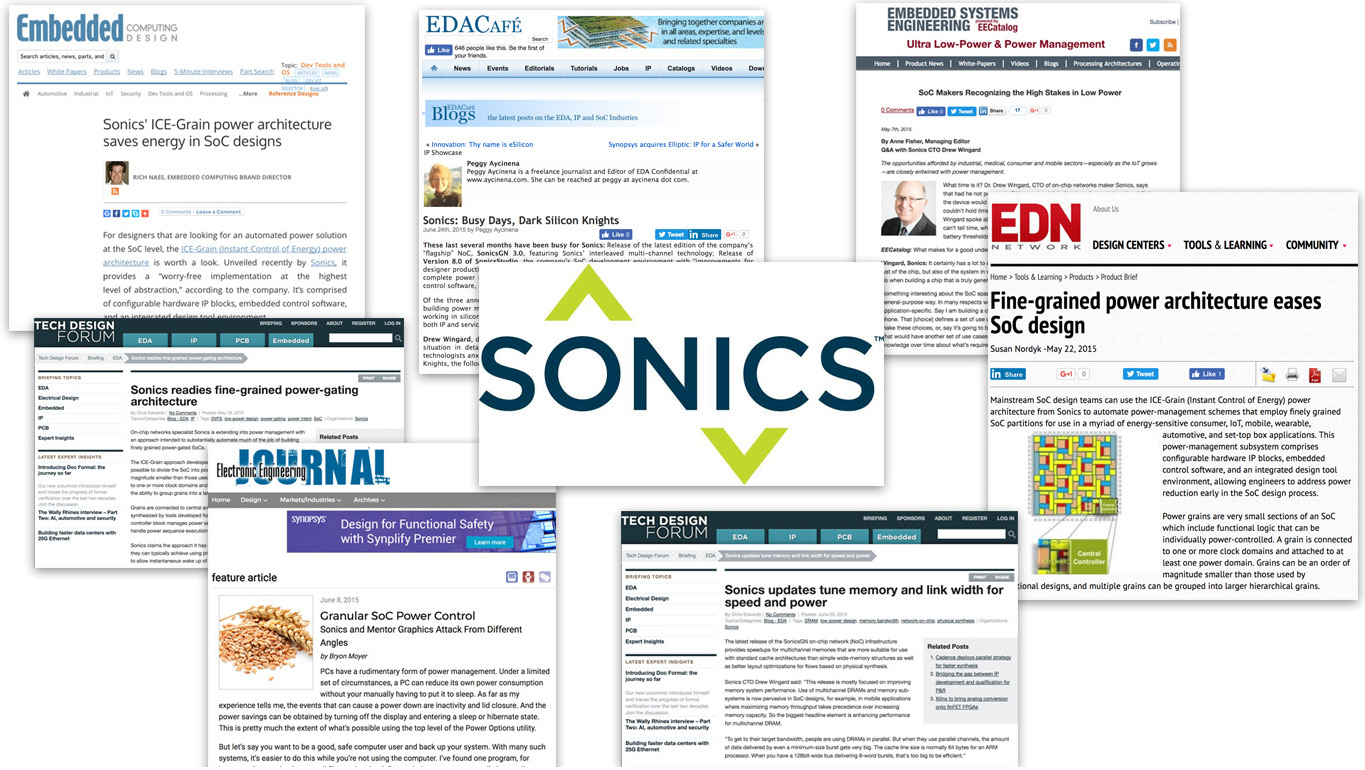 Sonics - Be aware: McBru blows away targets for briefings, features and contributed articles.