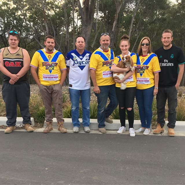 Team Malibu supporting #jerseyday today. Check out this great cause at https://www.jerseyday.com.au #donatelife @gremmo.homes