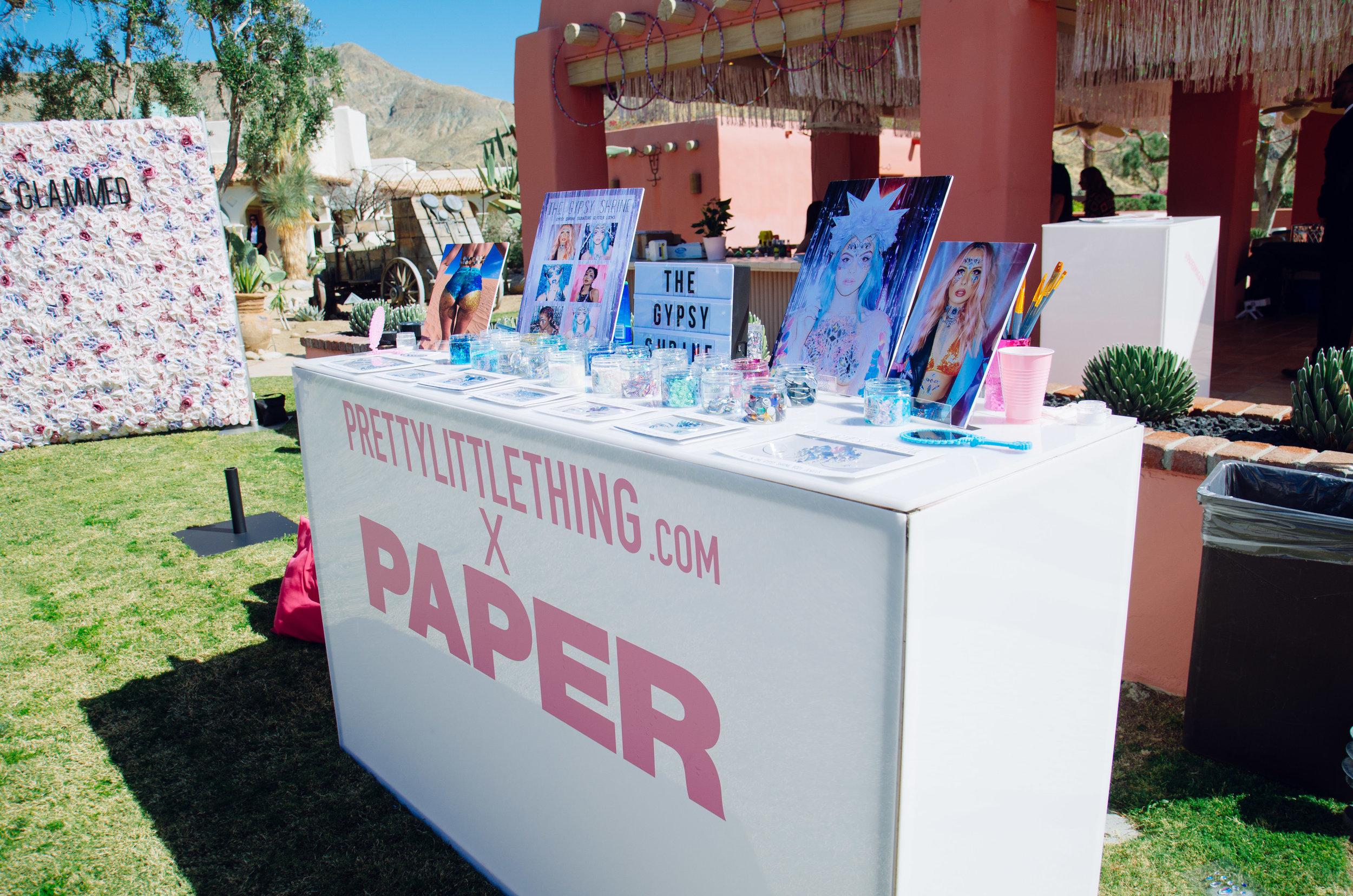 Ultimate Hollywood Coachella Poolside Party gypsy shrine glitter bar.jpg