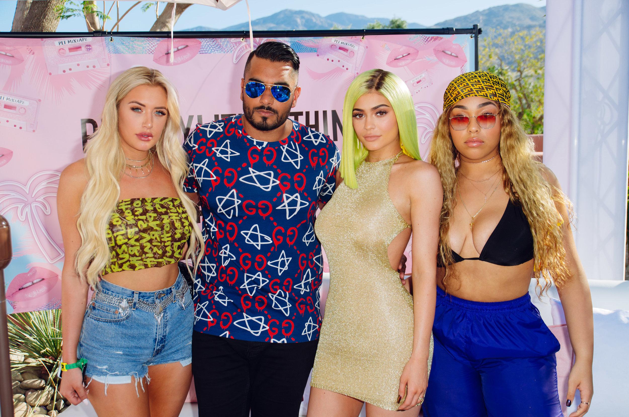 Ultimate Hollywood Coachella Poolside Party umar kumani stassie kylie jenner.jpg