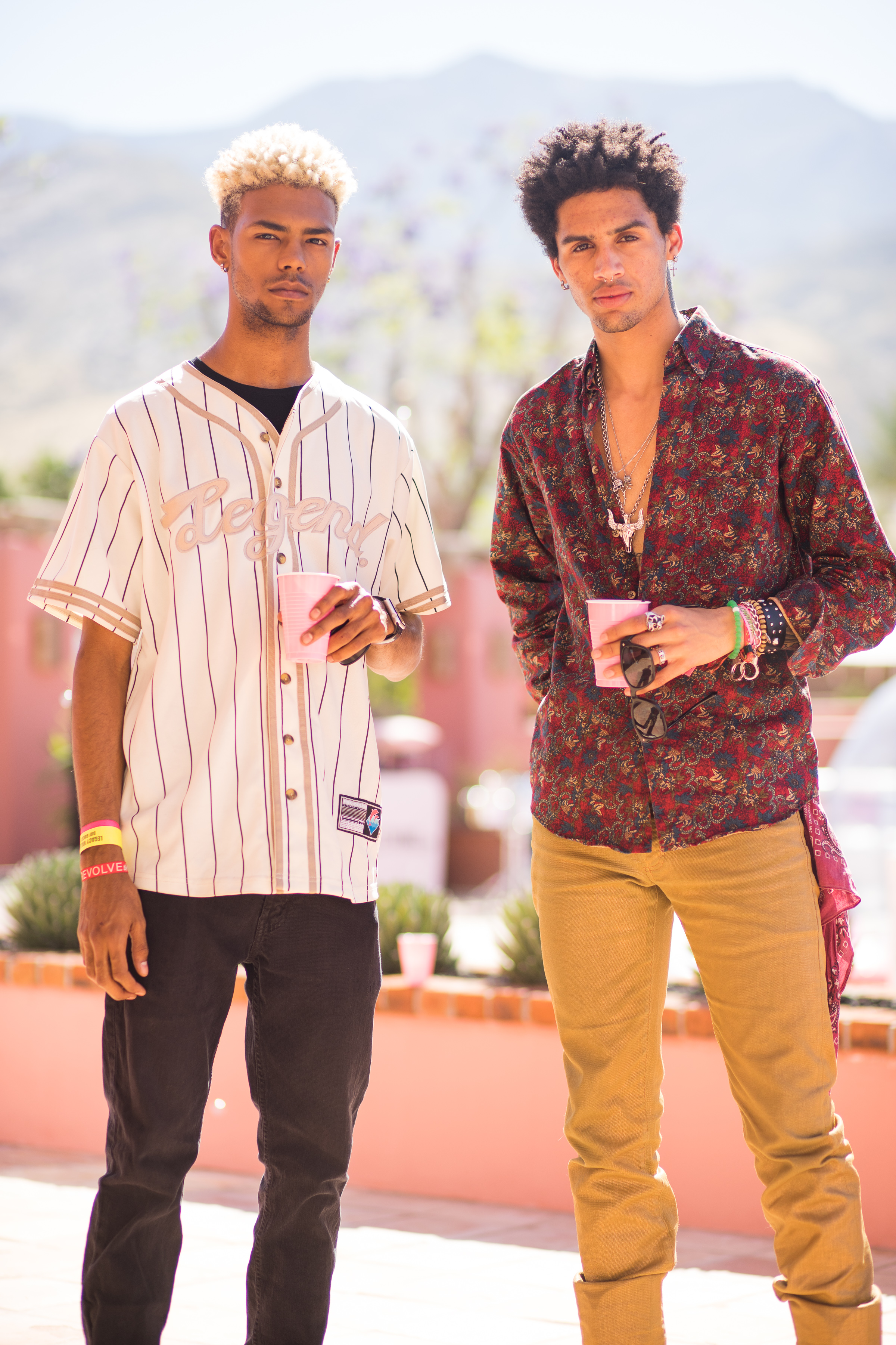 Ultimate Hollywood Coachella Poolside Party two dudes.jpg