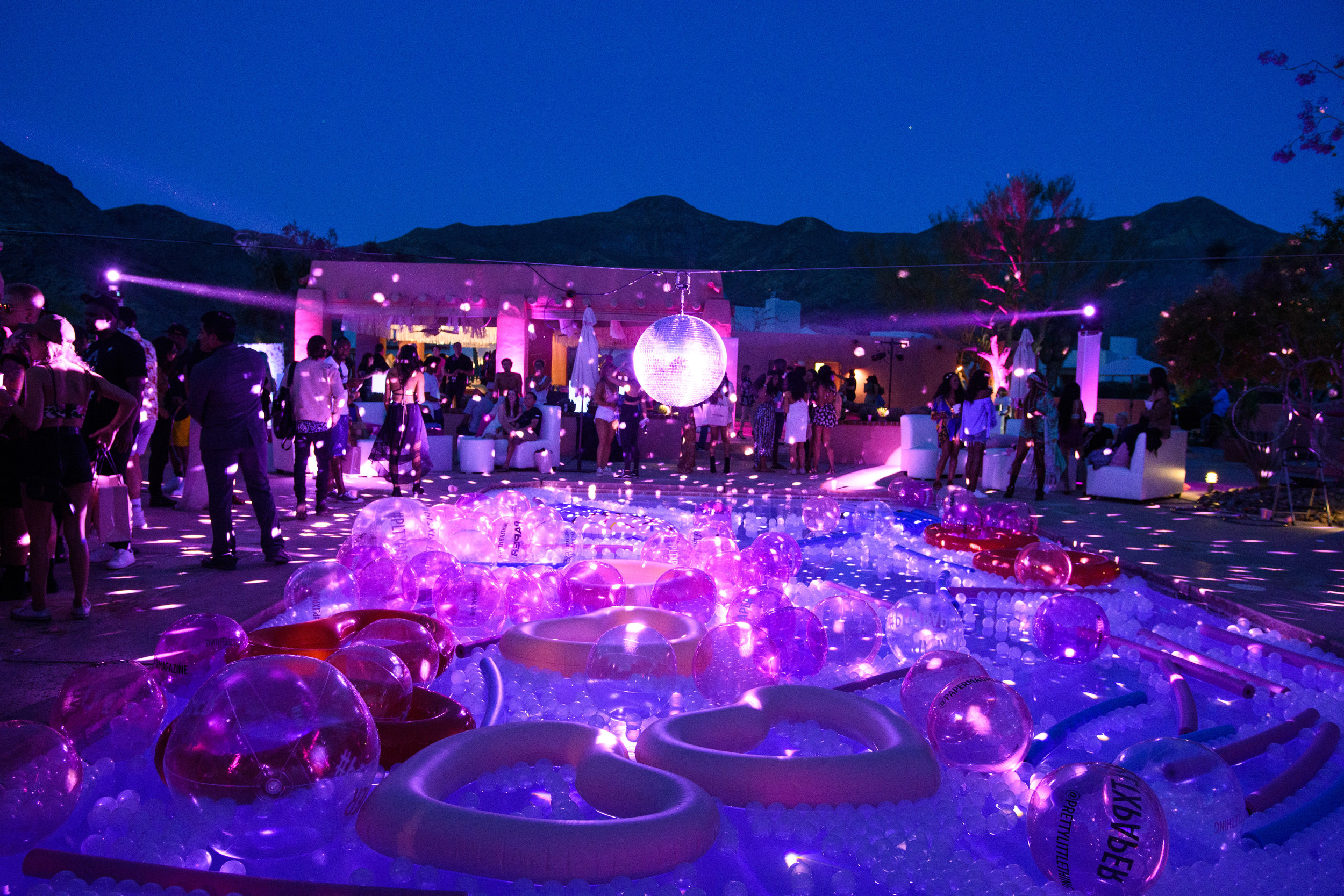 Ultimate Hollywood Coachella Poolside Party galaxy lights.jpg