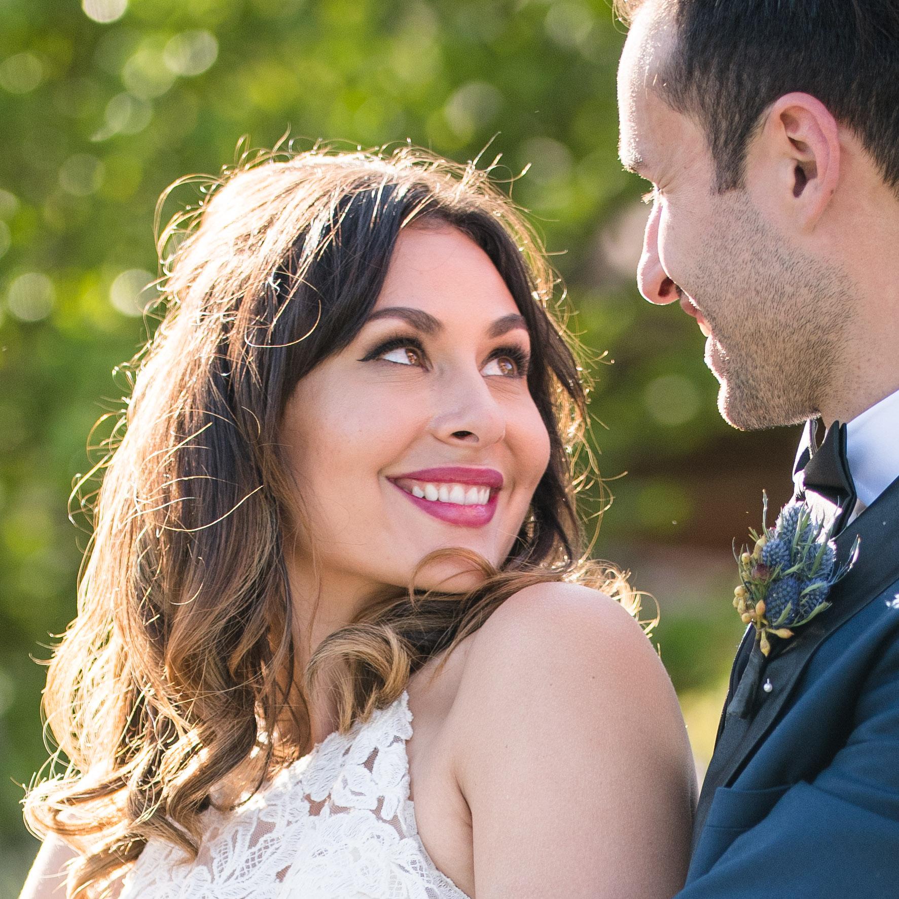 Vibrant Fiesta Backyard Wedding Reception gorgeous bride and her groom.jpg