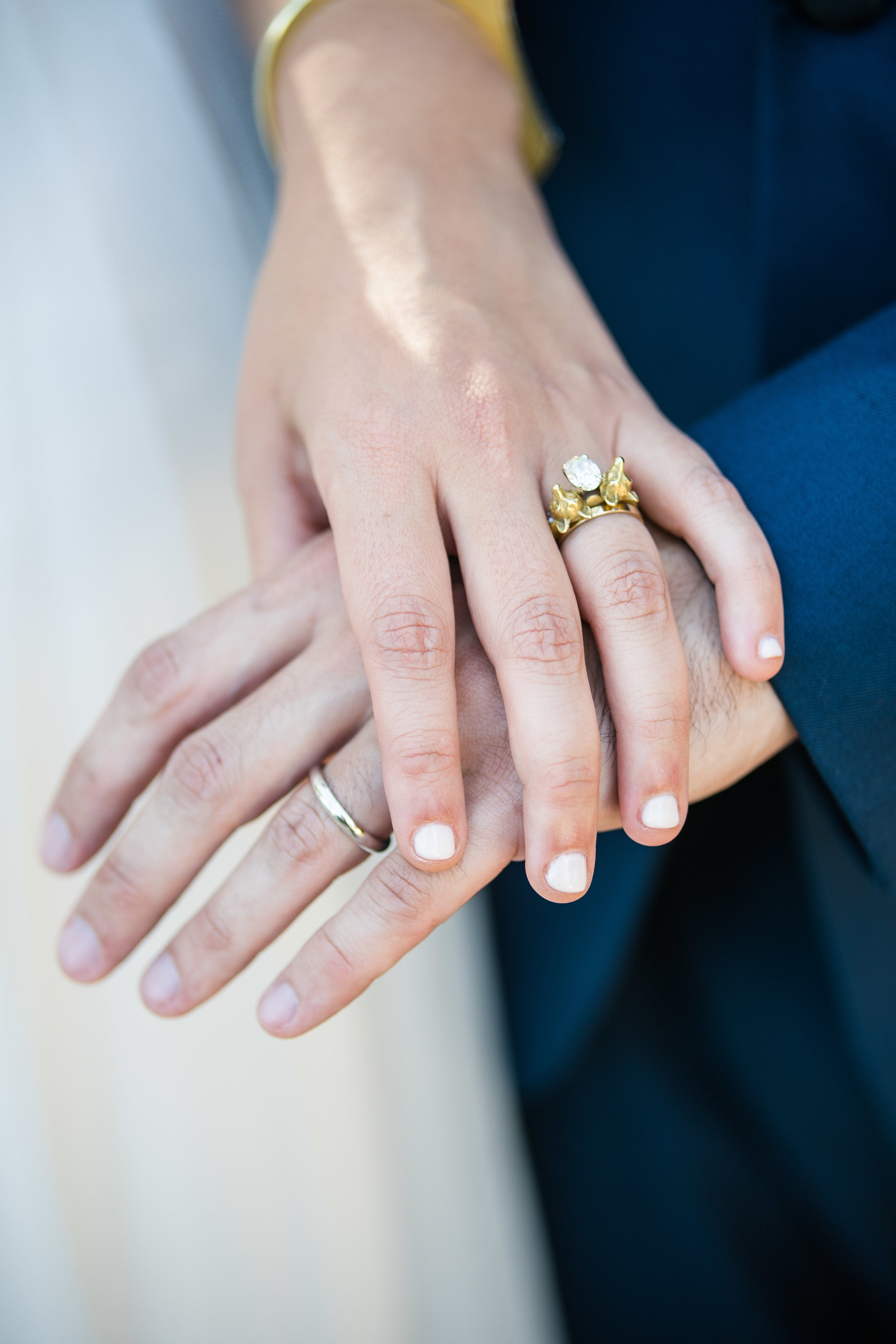 Vibrant Fiesta Backyard Wedding Reception wedding rings.jpg