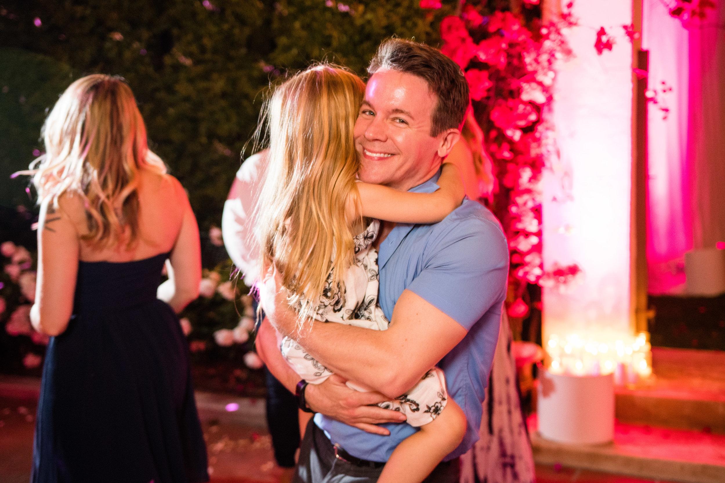 Vibrant Fiesta Backyard Wedding Reception daddy daughter dance.jpg