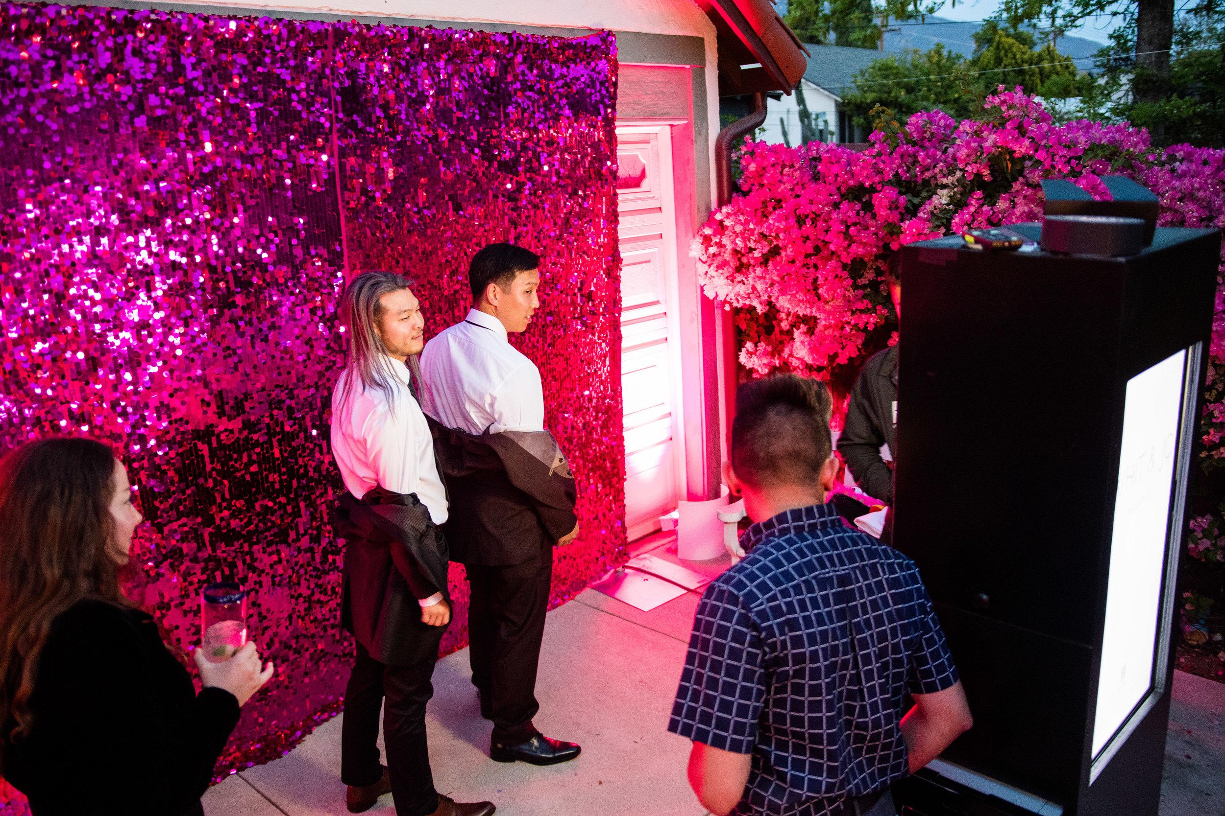 Vibrant Fiesta Backyard Wedding Reception photobooth.jpg