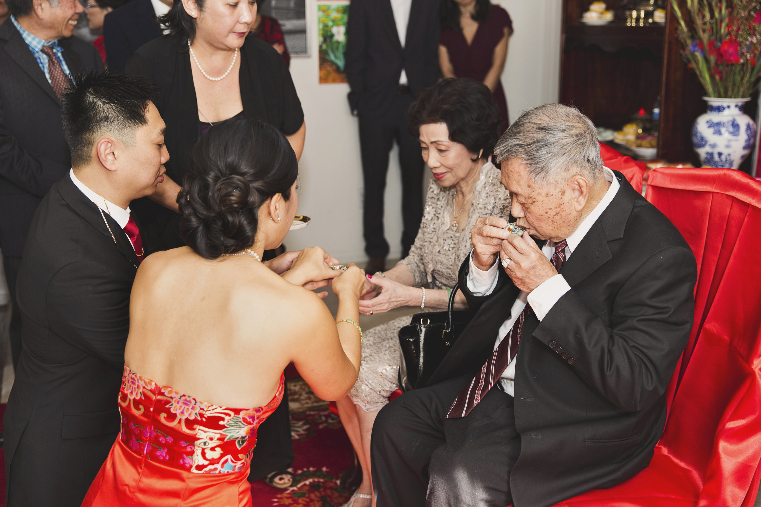 Beautiful Traditional Modern Chinese Wedding tea ceremony.jpg