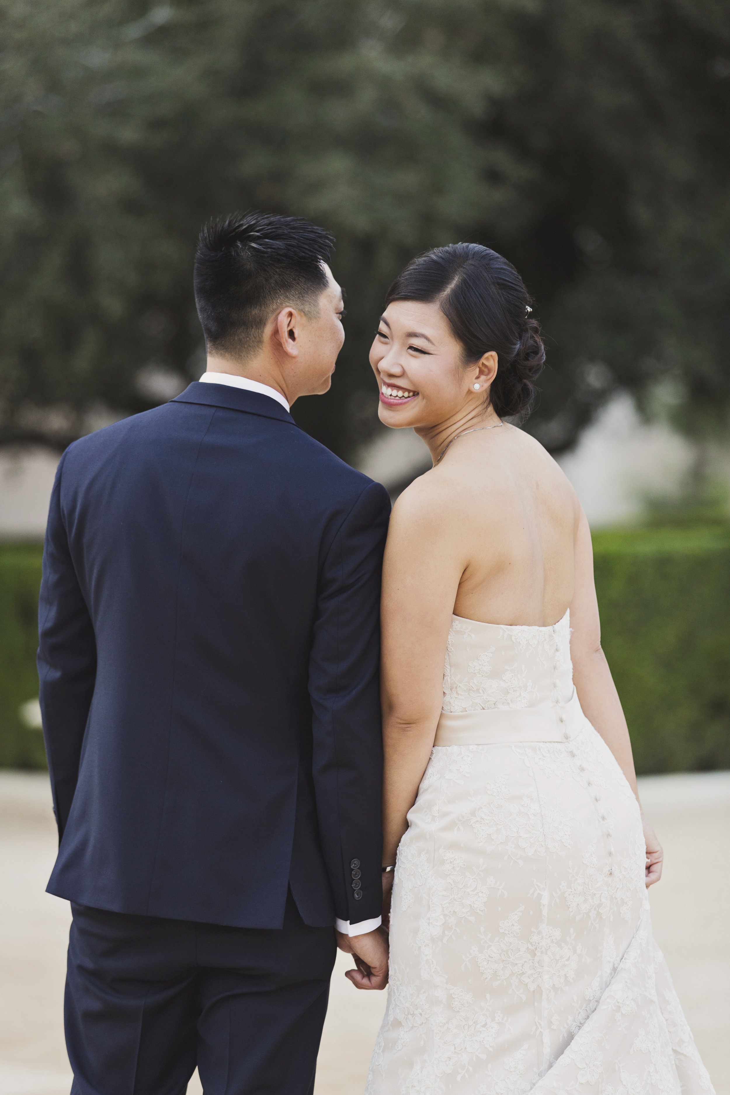 Beautiful Traditional Modern Chinese Wedding sweet moment caught between bride and groom.jpg
