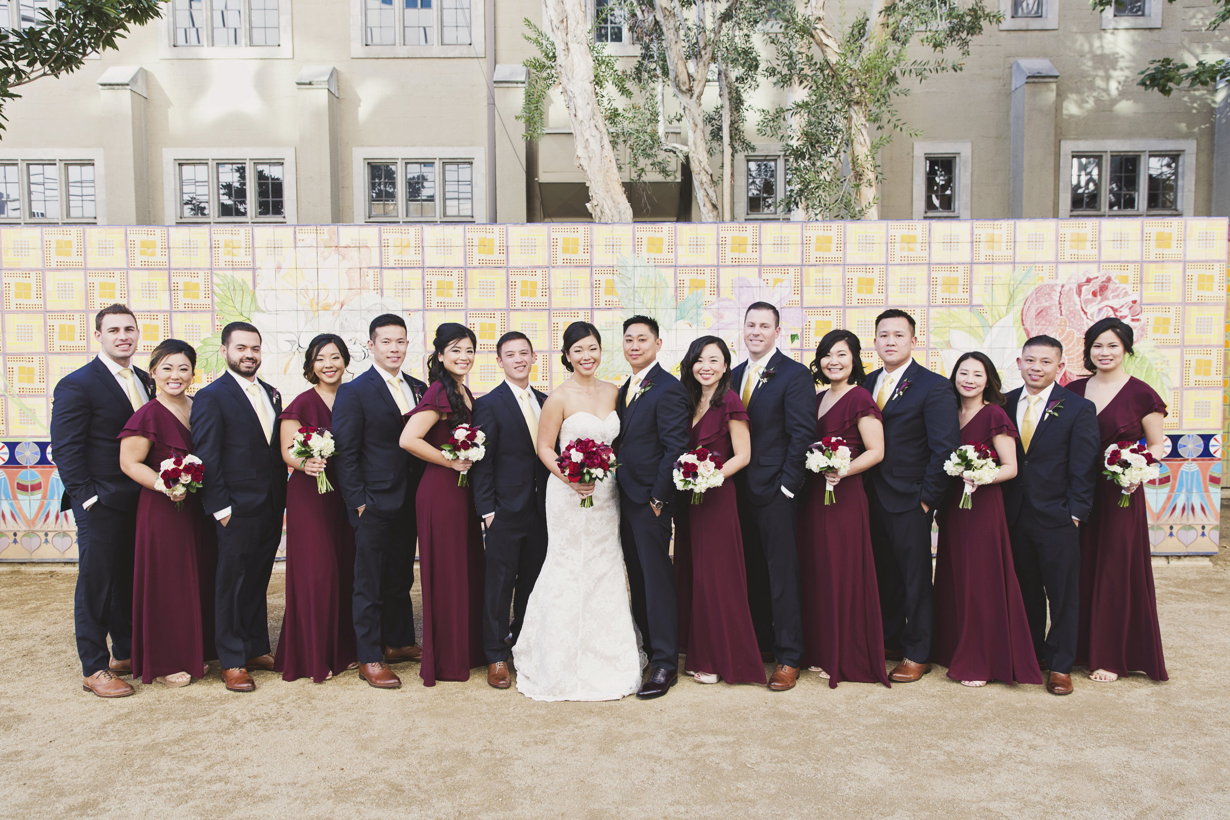 Beautiful Traditional Modern Chinese Wedding wedding party.jpg