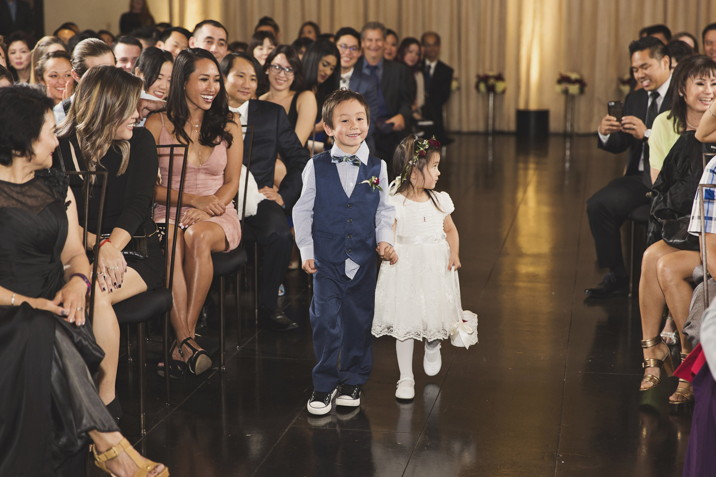 Beautiful Traditional Modern Chinese Wedding cute little ringbearer and flower girl.jpg