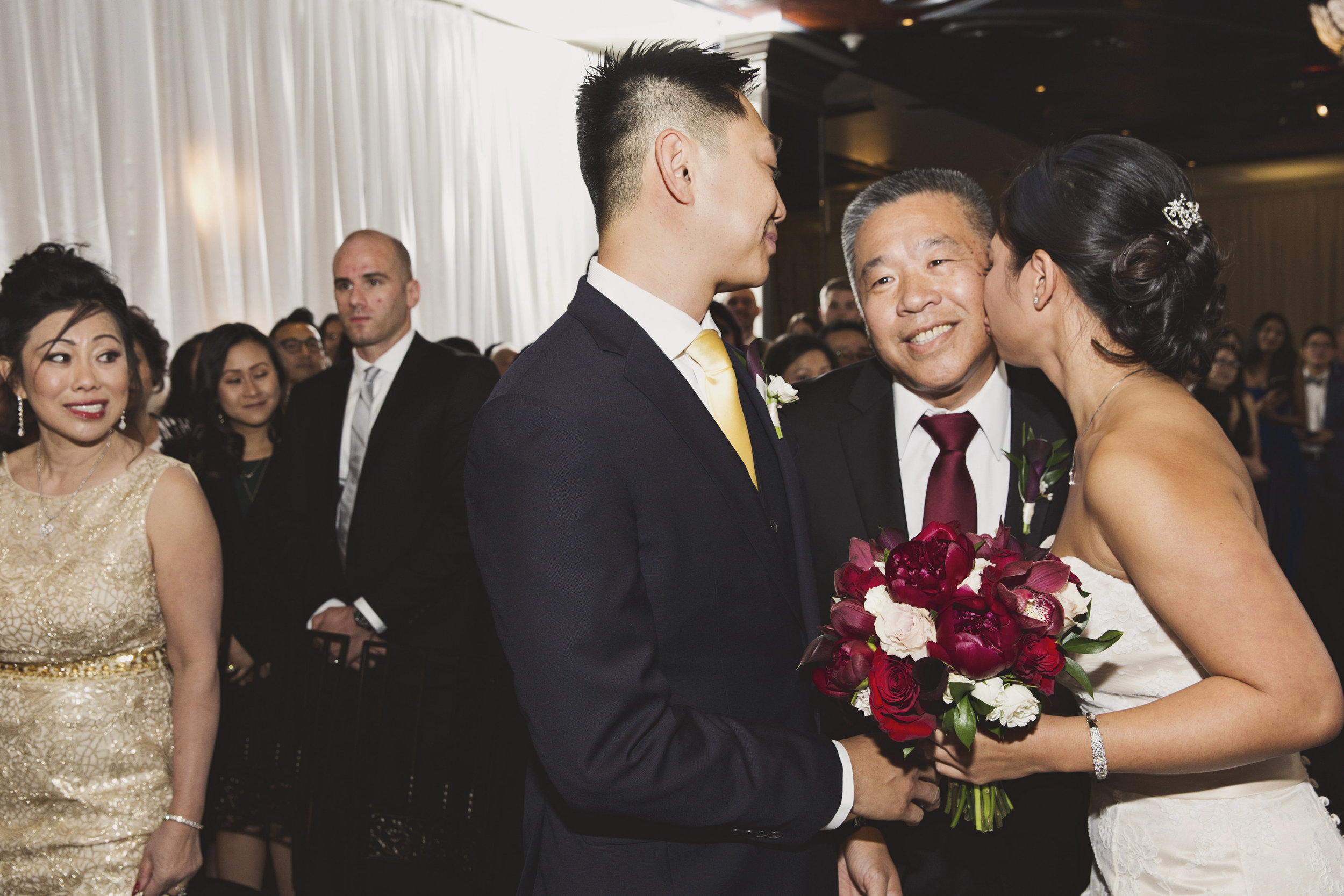 Beautiful Traditional Modern Chinese Wedding dad giving his daughter away.jpg