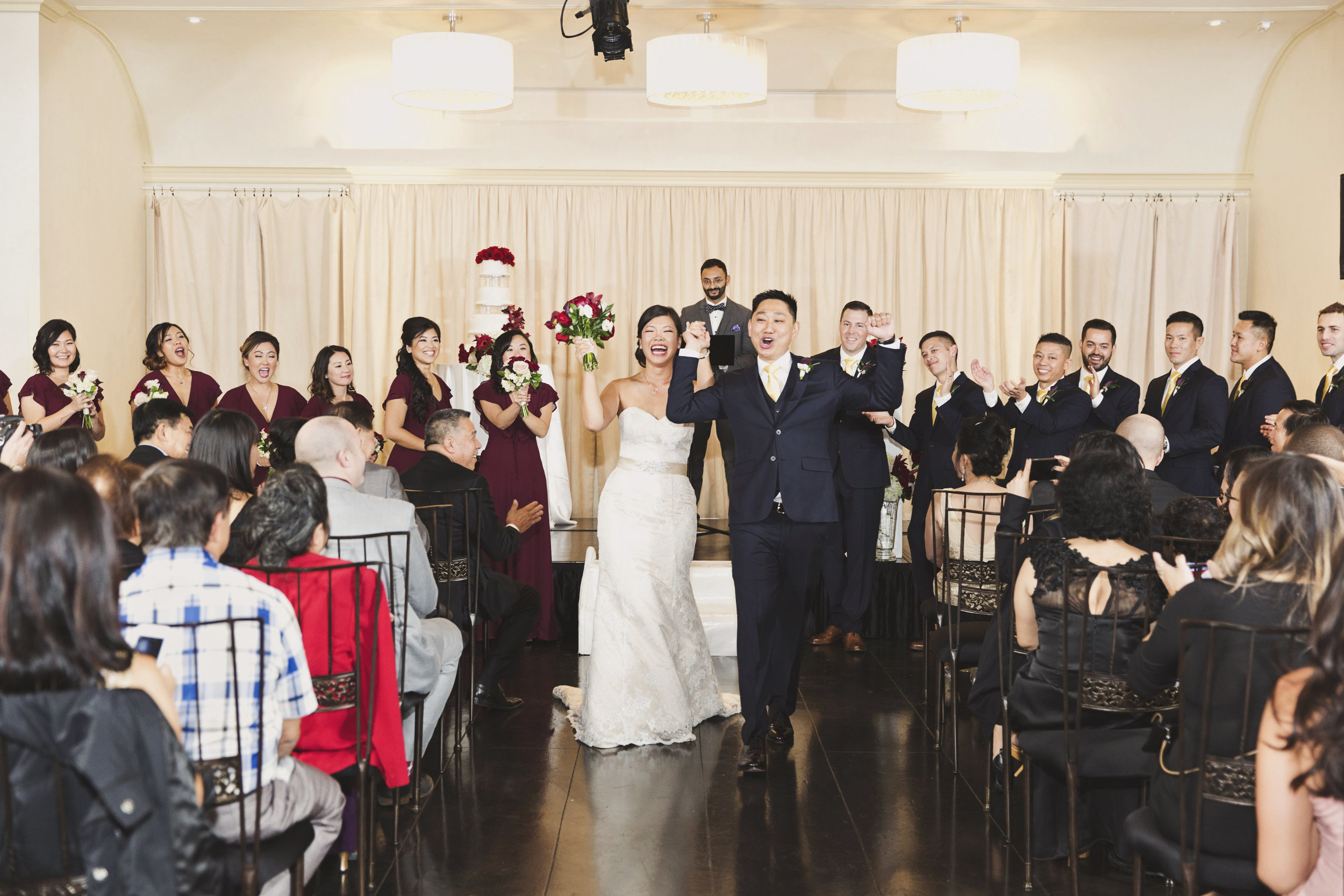 Beautiful Traditional Modern Chinese Wedding finally husband and wife.jpg