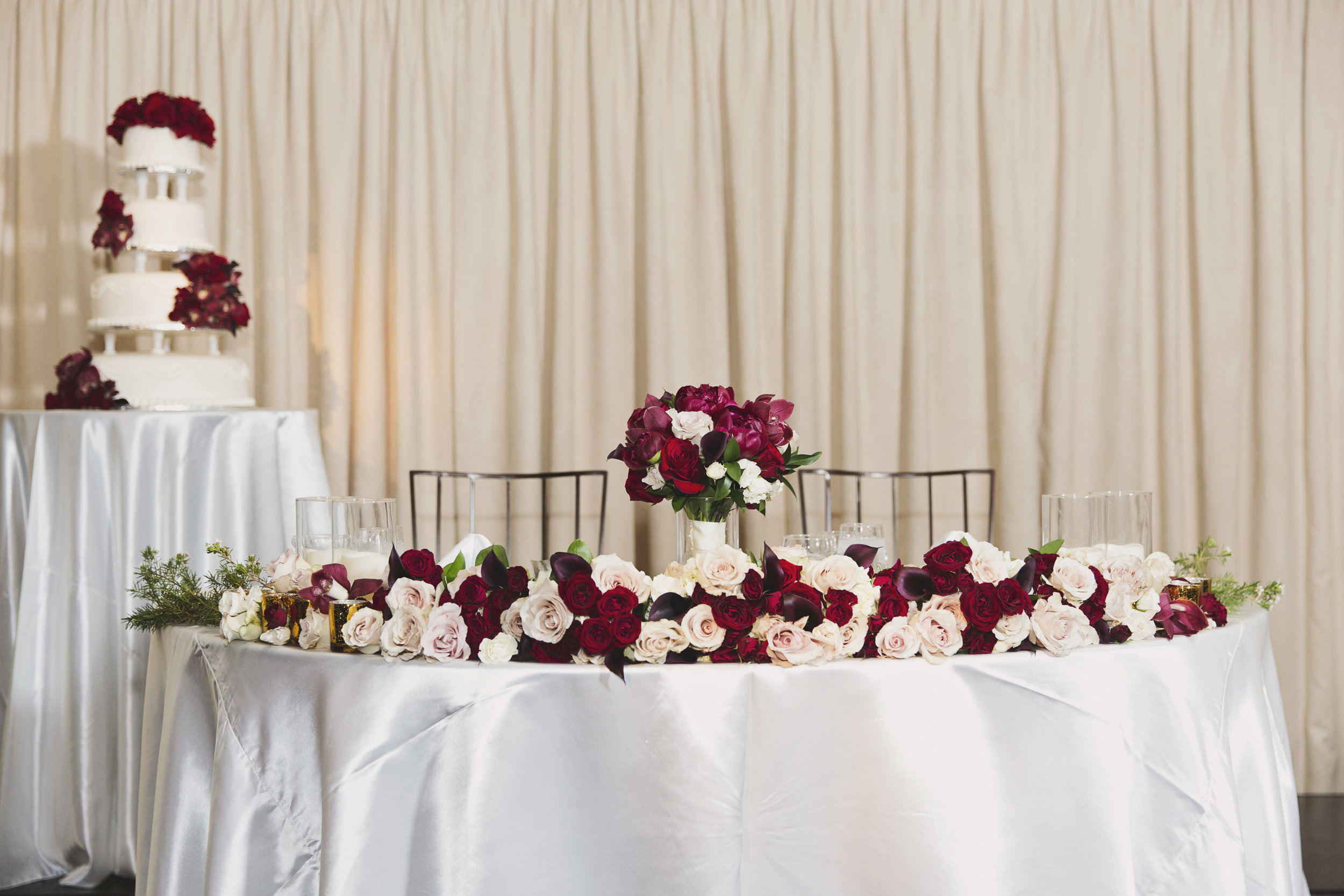 Beautiful Traditional Modern Chinese Wedding sweetheart table.jpg