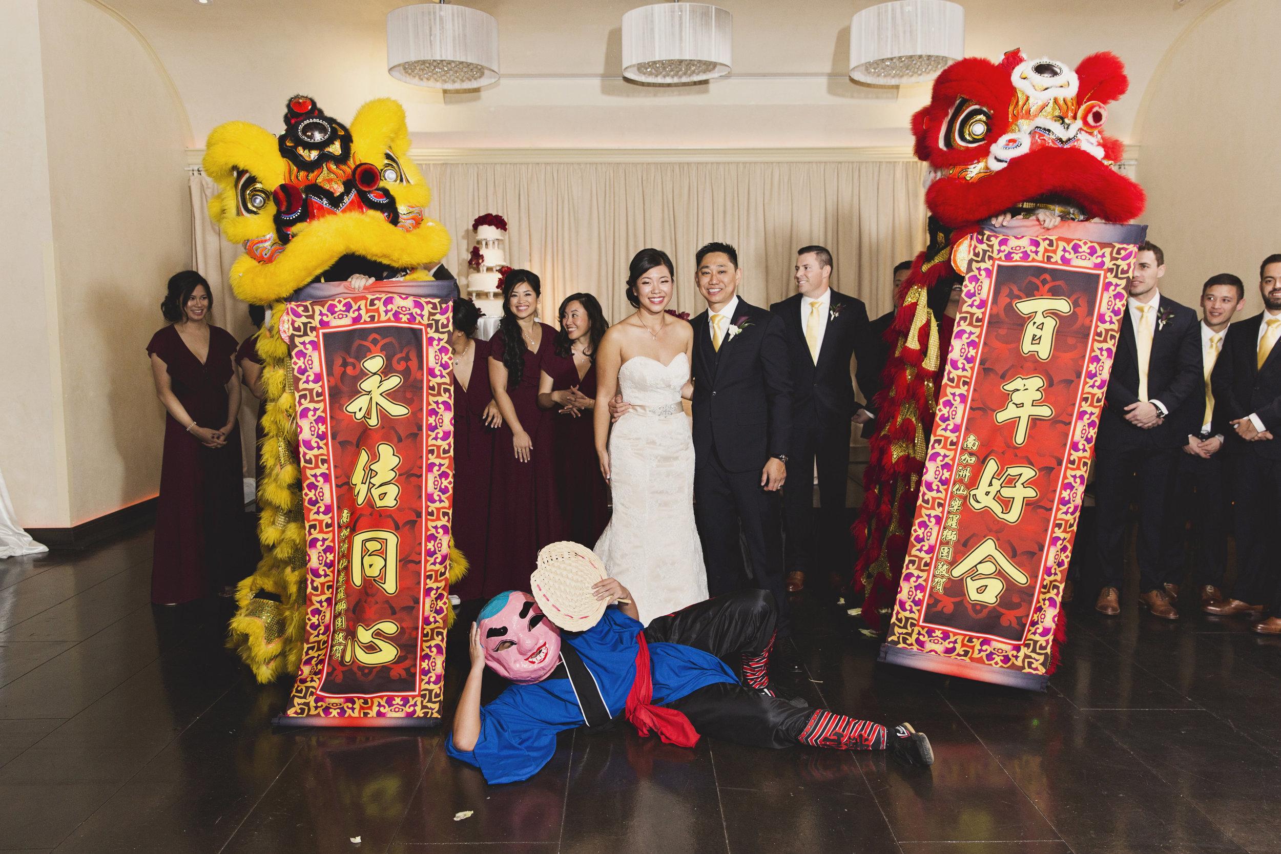 Beautiful Traditional Modern Chinese Wedding dragons.jpg