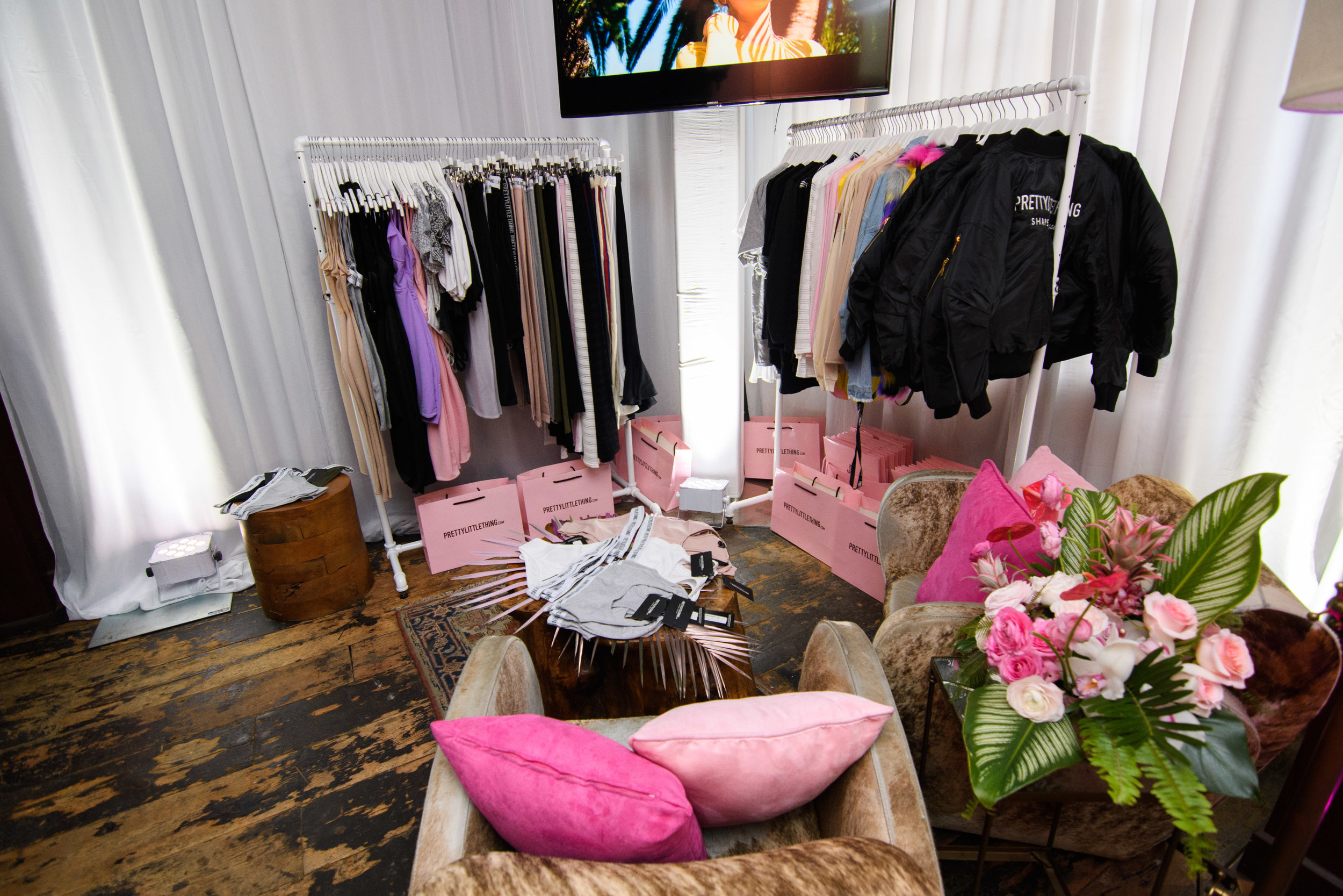 PrettyLittleThing New PLT Shape Collection with Stassie Celebrity Launch Party gifting suite.jpg