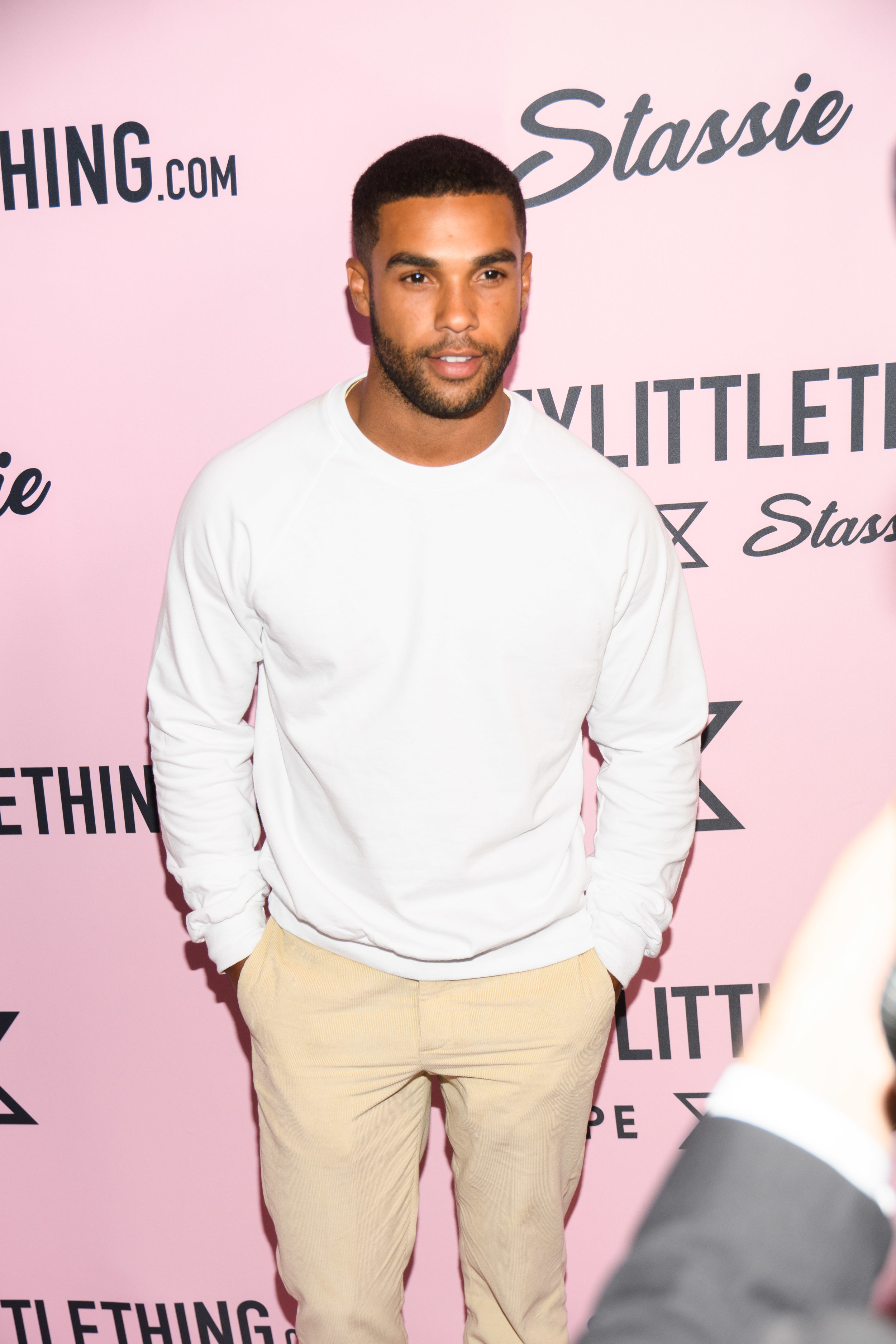 PrettyLittleThing New PLT Shape Collection with Stassie Celebrity Launch Party actor Lucien Laviscount.jpg